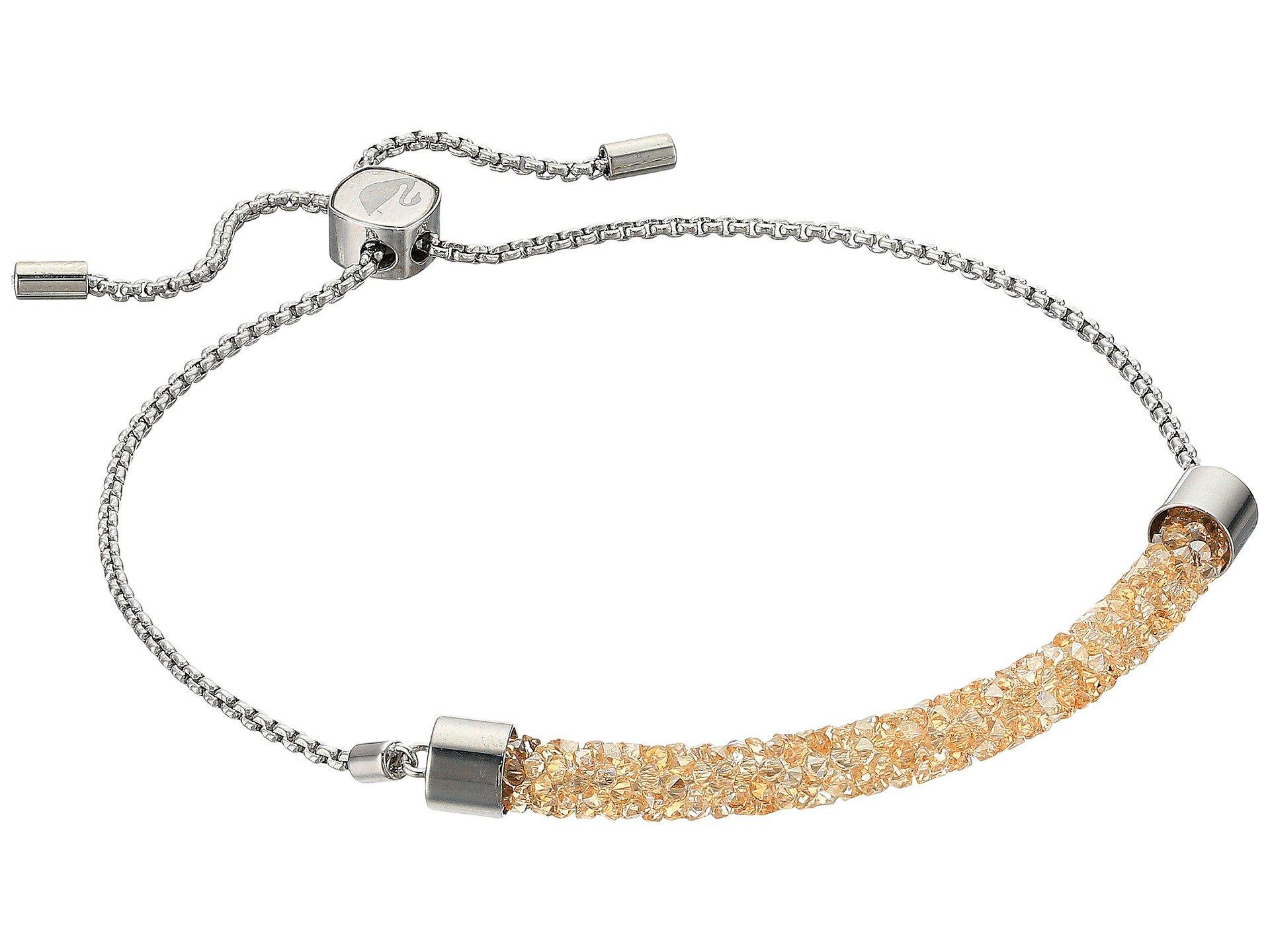 db9e476f7 Swarovski Long Beach Bracelet (stainless Steel/brown) Bracelet - Lyst