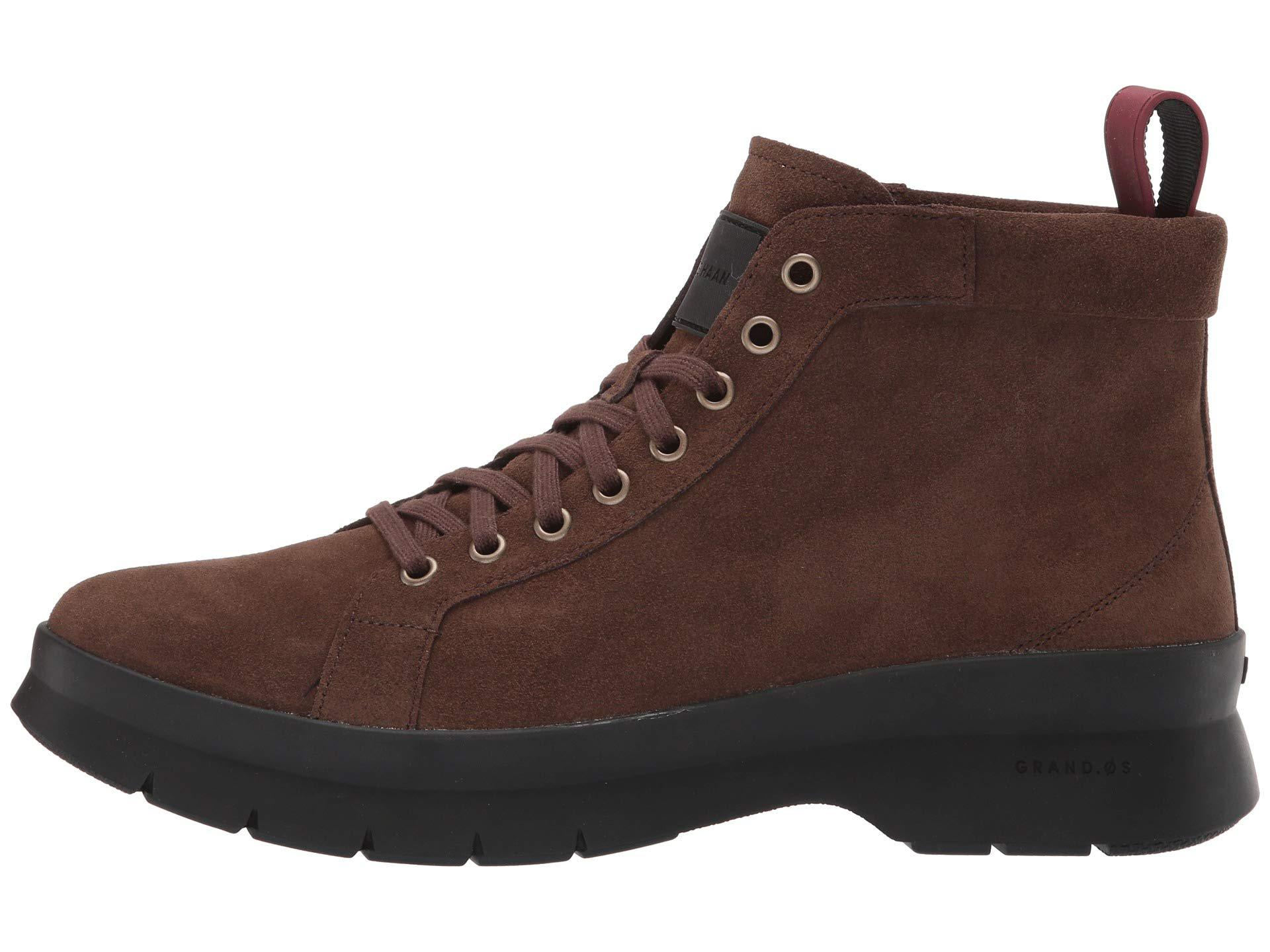 Cole Haan Leather Pinch Utility Chukka