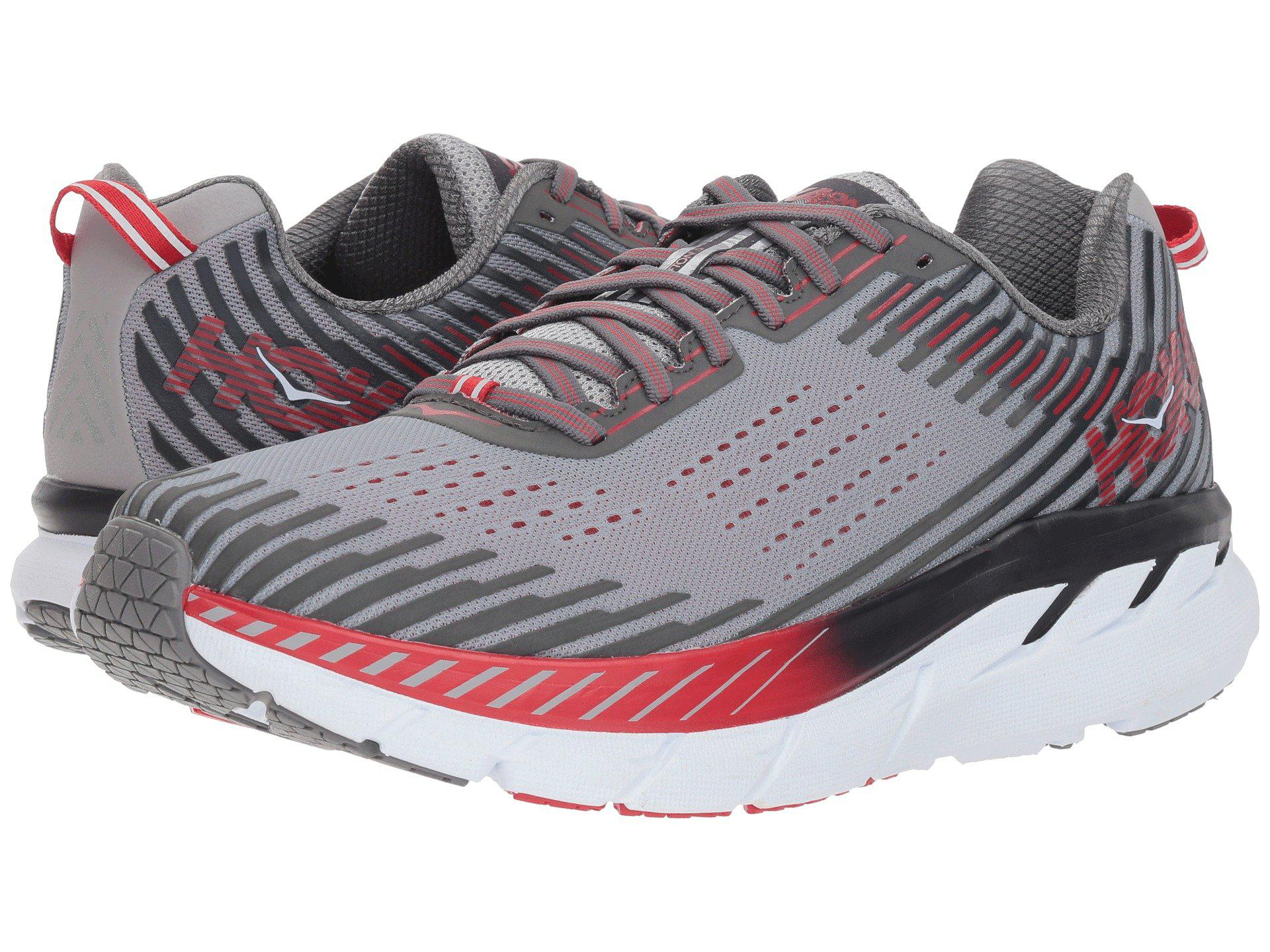 Hoka One One Clifton 5 (frost Gray/ebony) Men\u0027s Running Shoes for men