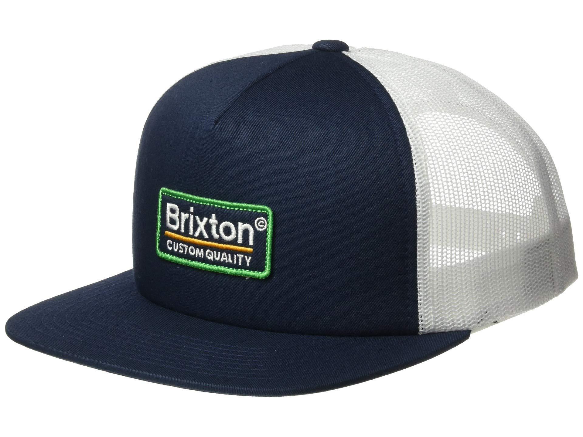 3fff451e Brixton - Blue Palmer Mesh Cap (burgundy/black) Caps for Men - Lyst. View  fullscreen