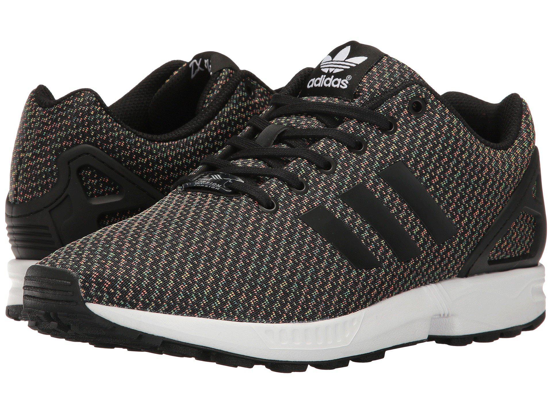 size 40 f46df d09a3 adidas Originals Zx Flux - Multicolor Knit in Black for Men - Lyst