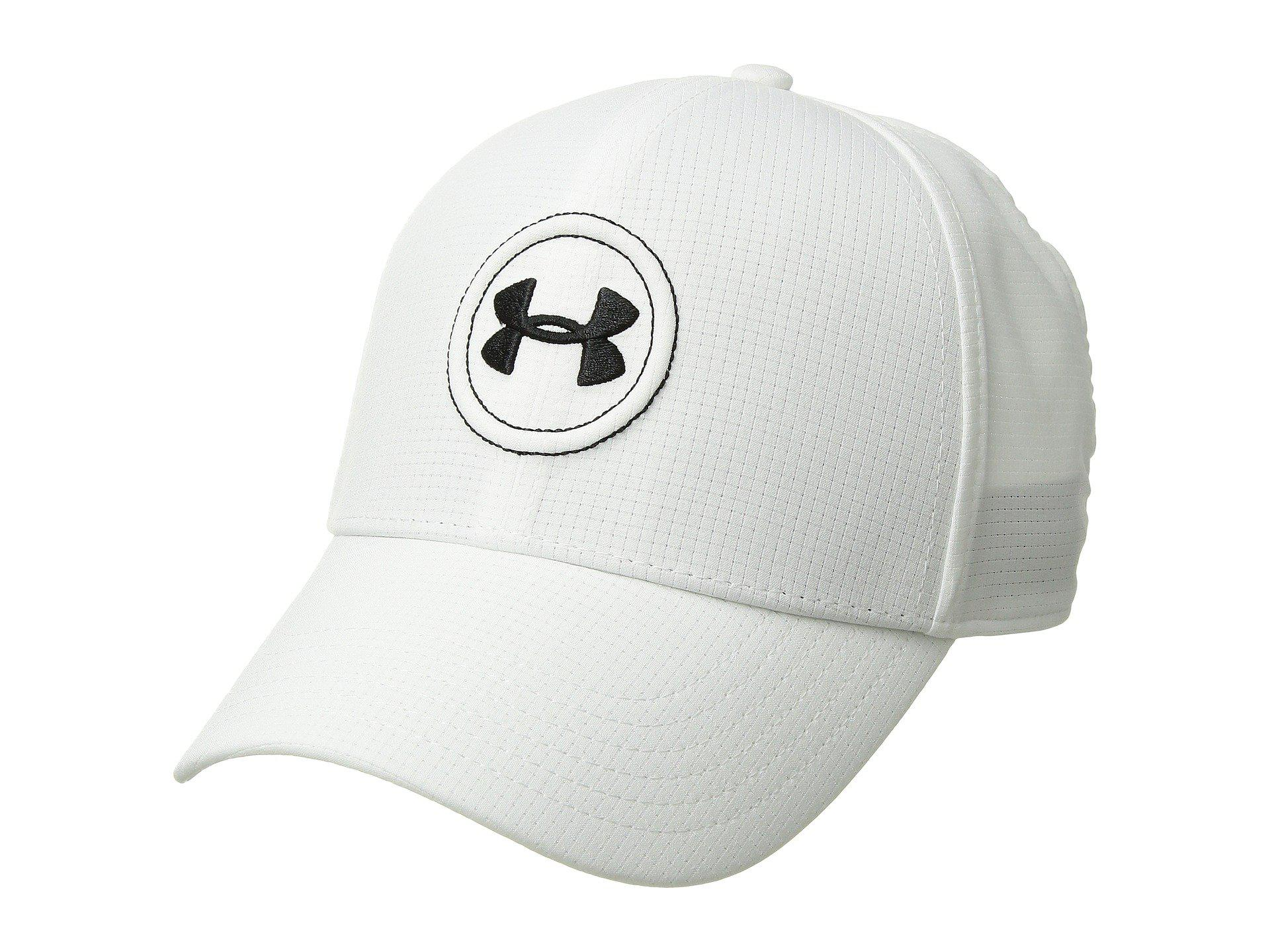 8f762f9b933 Lyst - Under Armour Ua Tour Cap in White for Men
