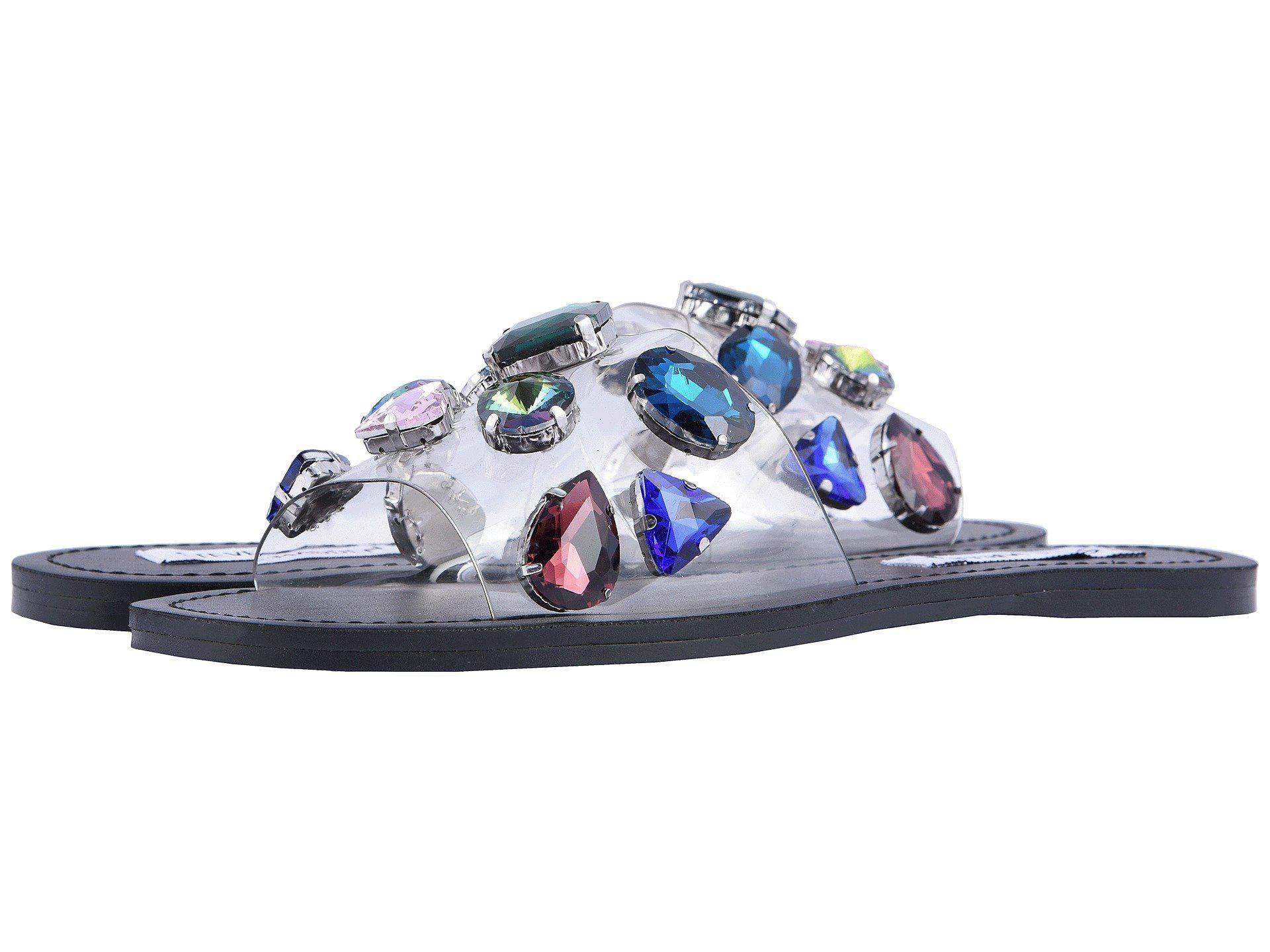 ab3f56f5b10 Steve Madden Multicolor Rosalyn Slide Flat Sandal