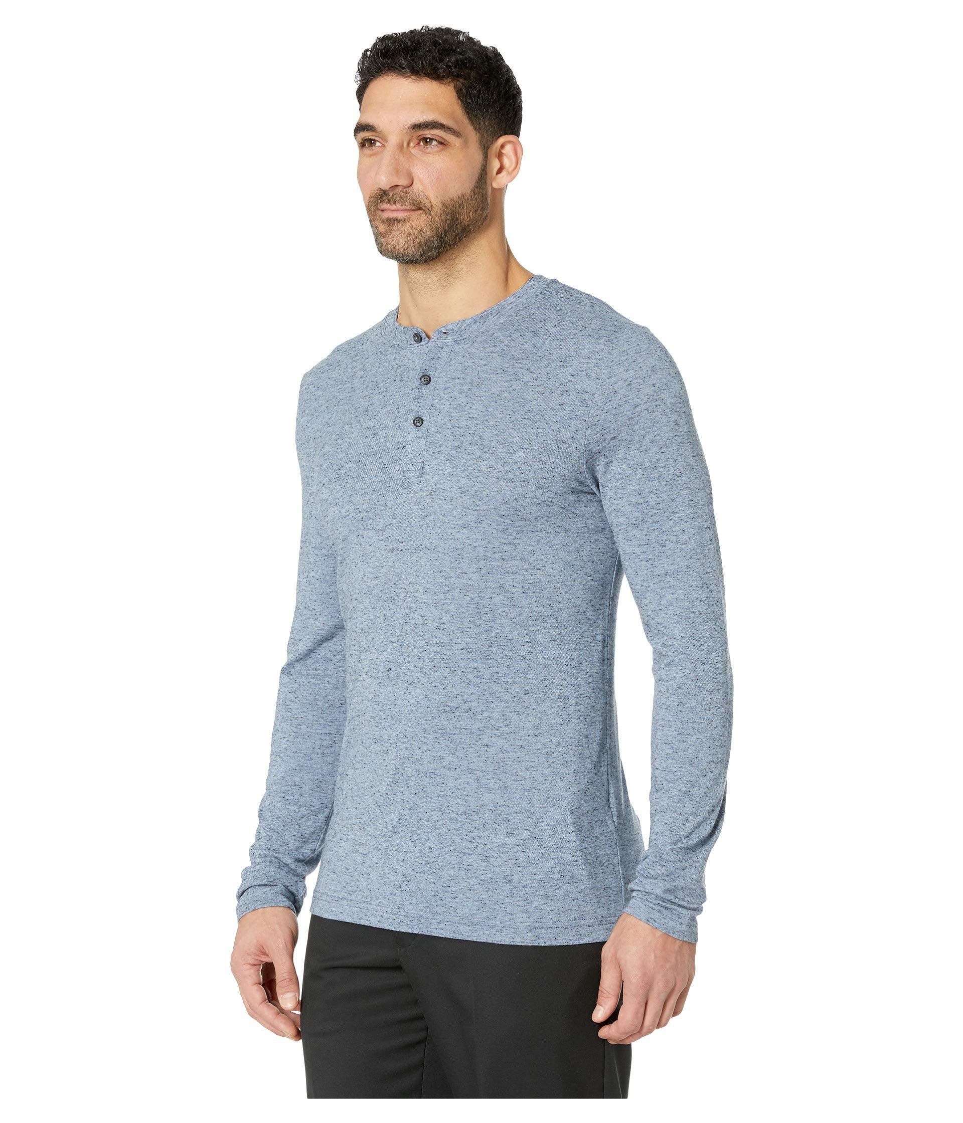 b7f4cac1 Lyst - Travis Mathew Kazakos (heather Blue Nights) Men's Long Sleeve  Pullover in Blue for Men