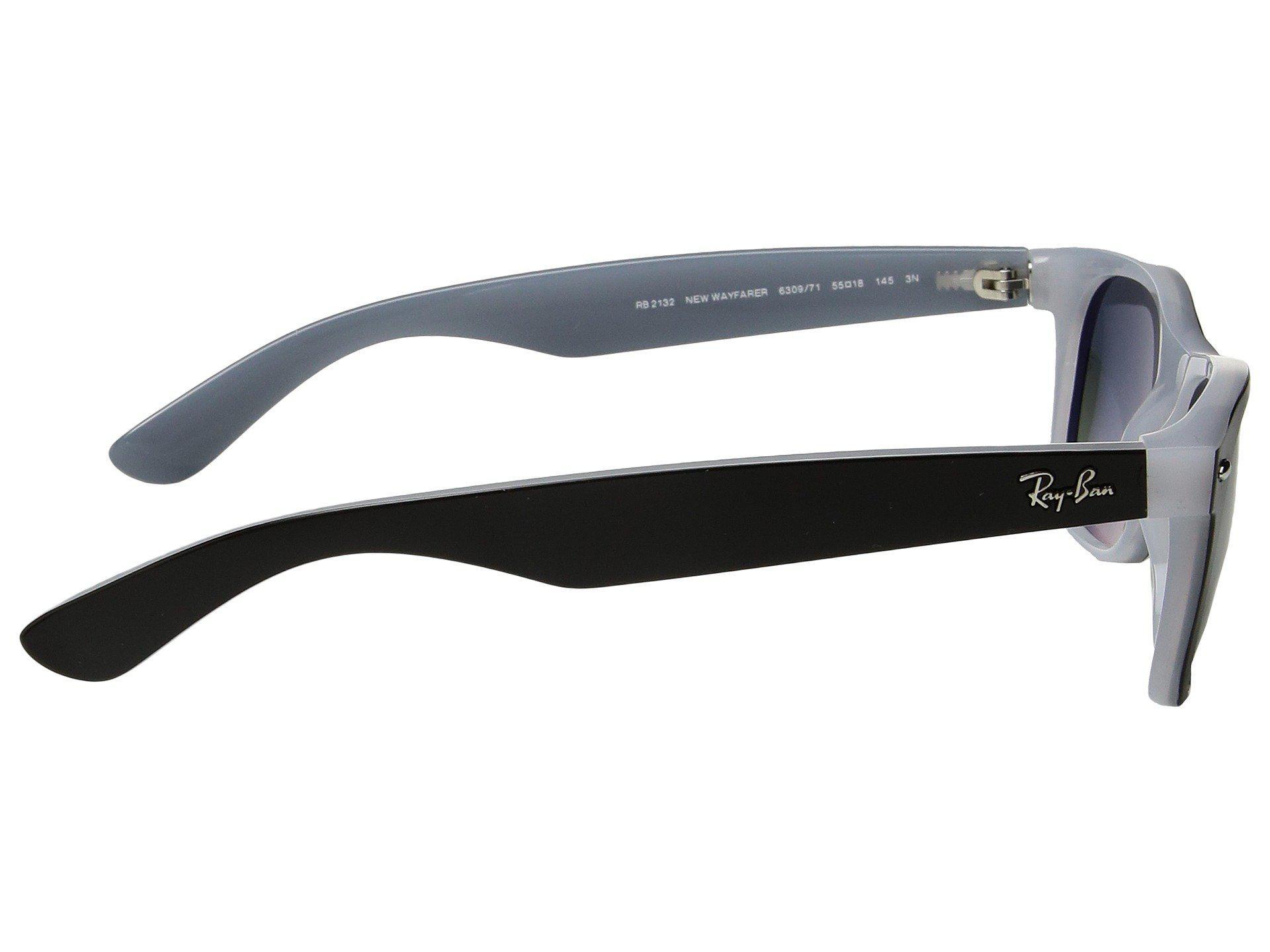 8eb18875566 Ray-Ban - Multicolor Rb2132 New Wayfarer 55mm (black g-15 Xlt. View  fullscreen