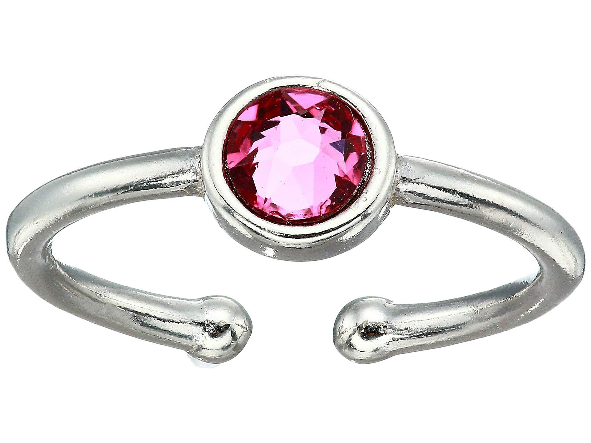 4150a5789467a ALEX AND ANI October Birthstone Adjustable Ring (sterling Silver ...