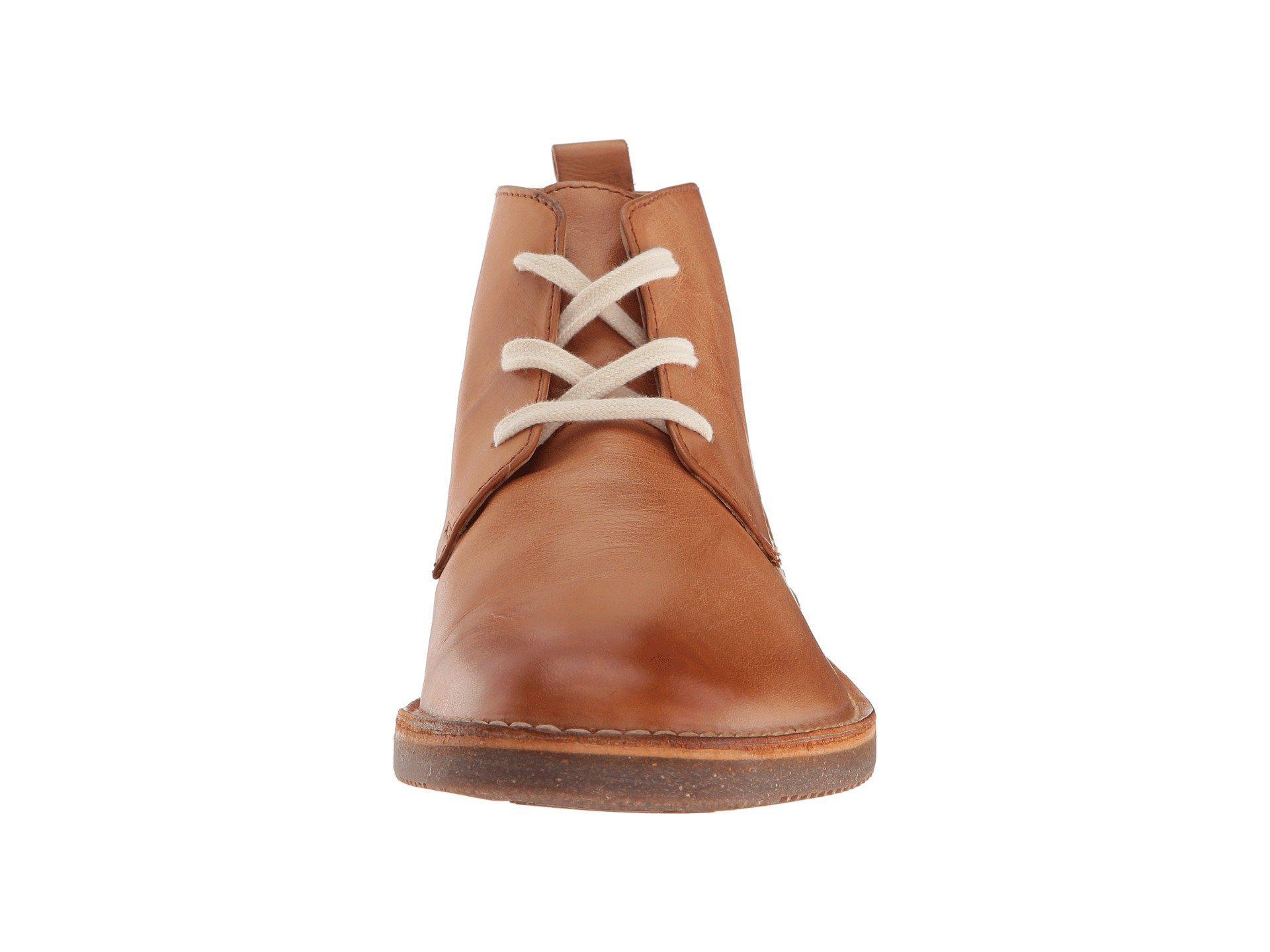 02d29dcf589 Frye Brown Ashland Chukka (natural Buffalo Smooth Full Grain) Men's Lace-up  Boots for men