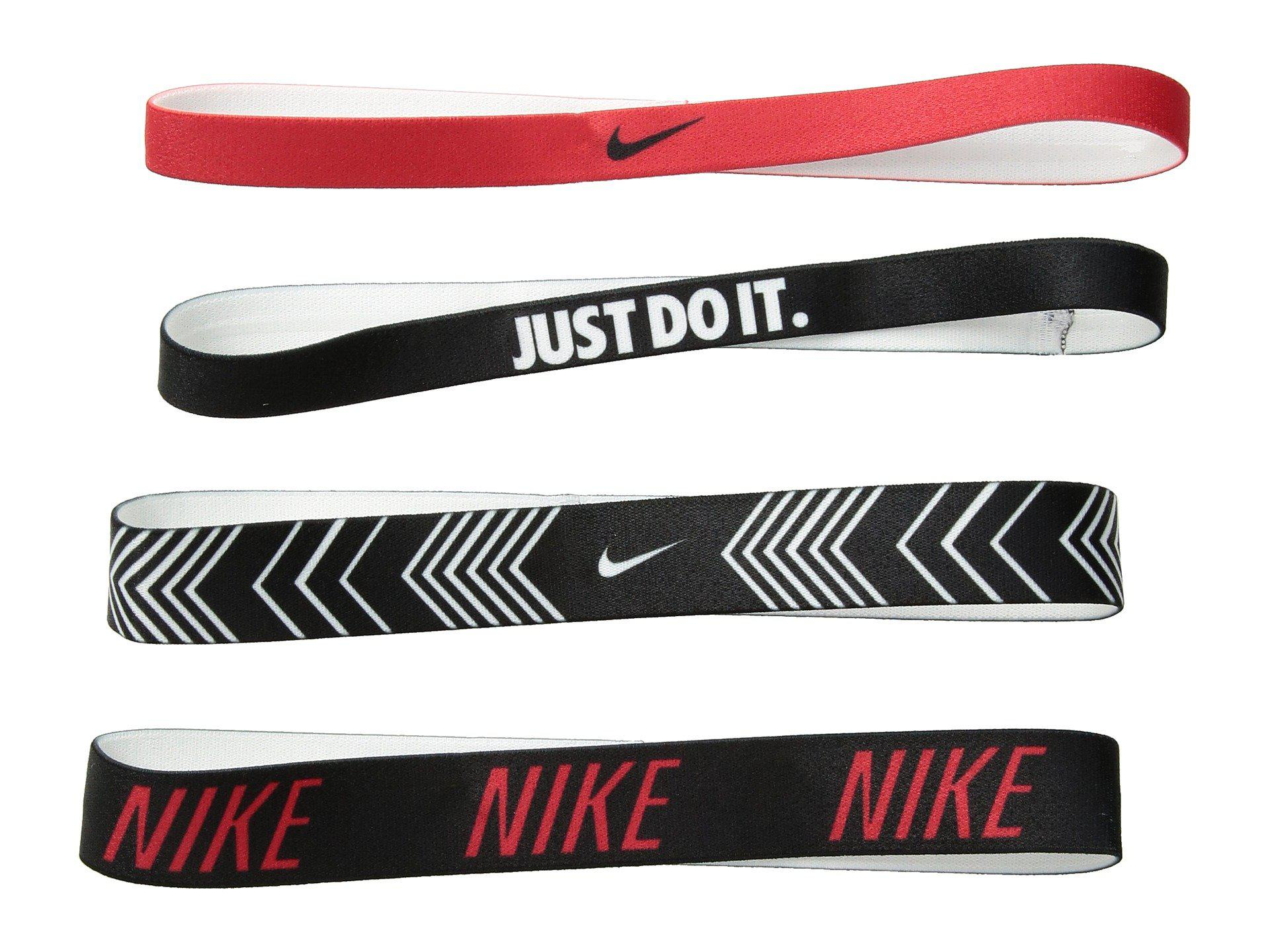 Lyst - Nike Printed Headbands Assorted 4-pack (university Red black ... 0758389a827