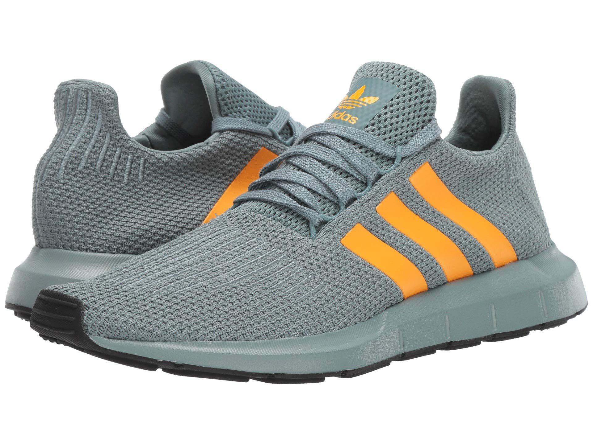 a2954802efb Lyst - adidas Originals Swift Run (raw Green real Gold core Black ...
