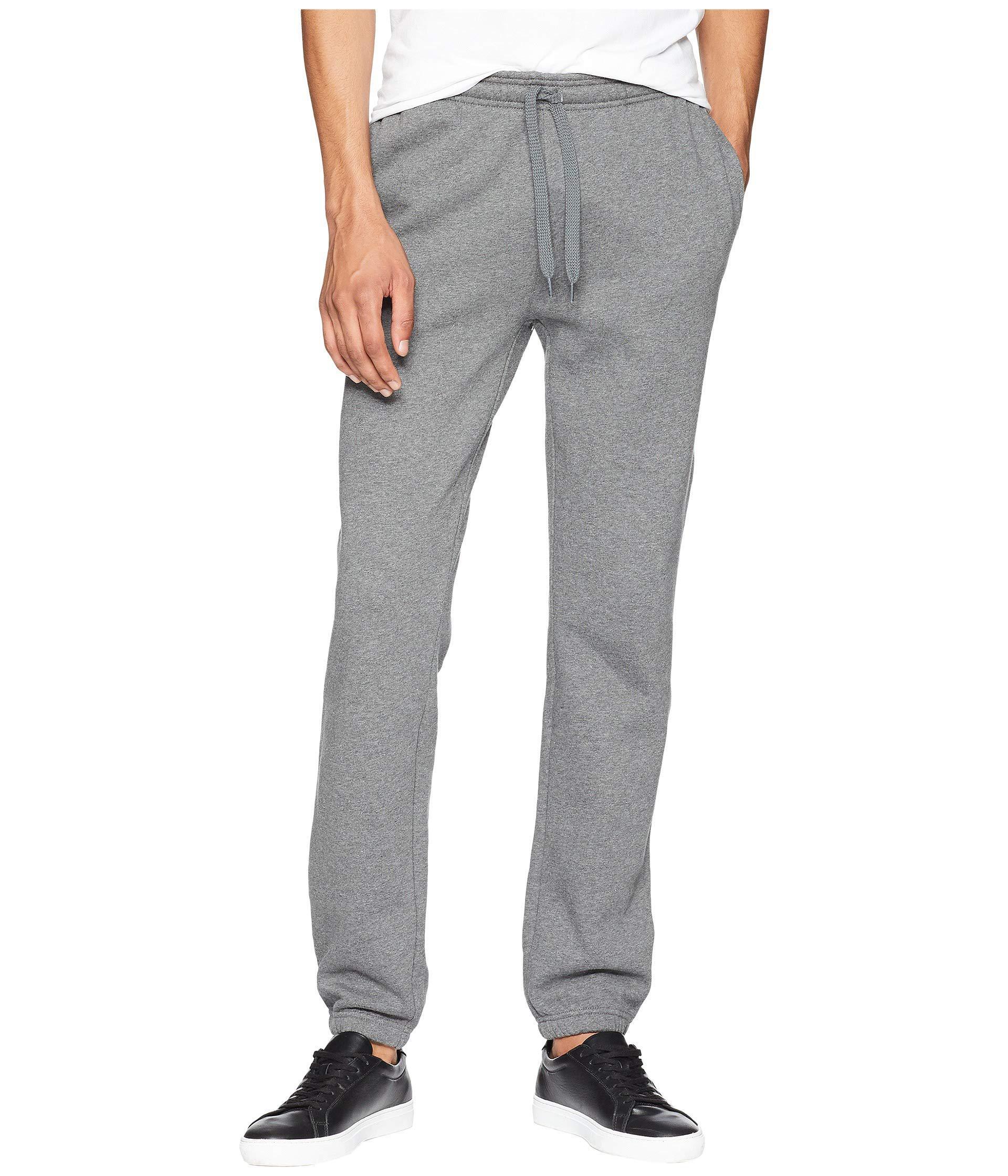 2c1de08735 Gray Sport Fleece Tennis Pants (pitch) Men's Casual Pants