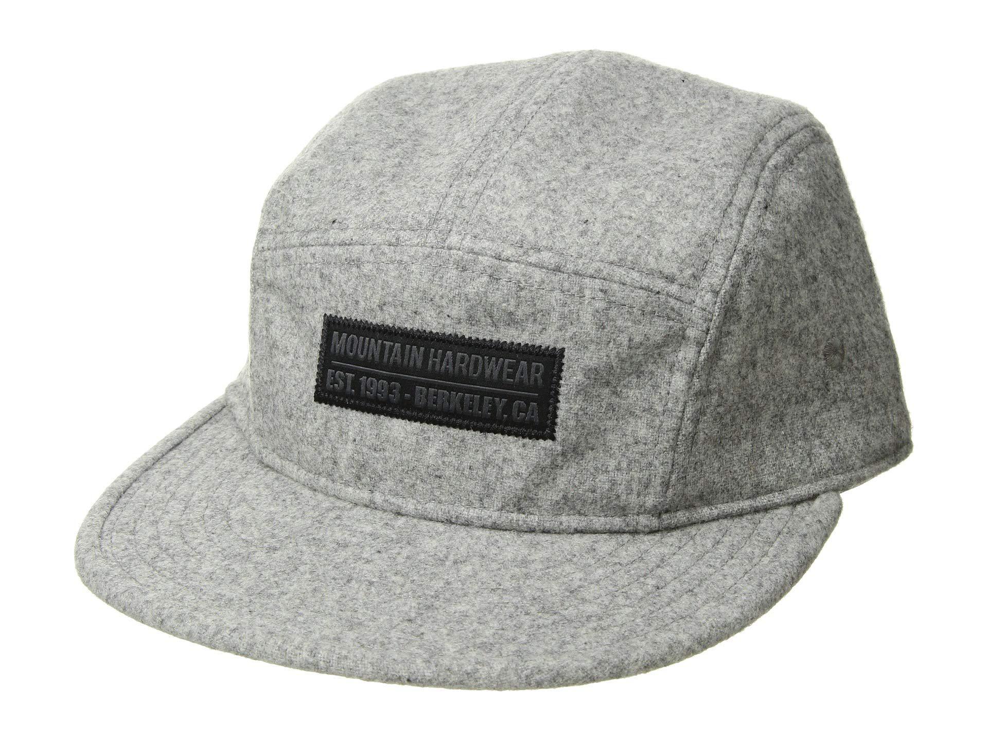 6416104d Mountain Hardwear Gilman St Hat (manta Grey 1) Caps in Gray for Men ...