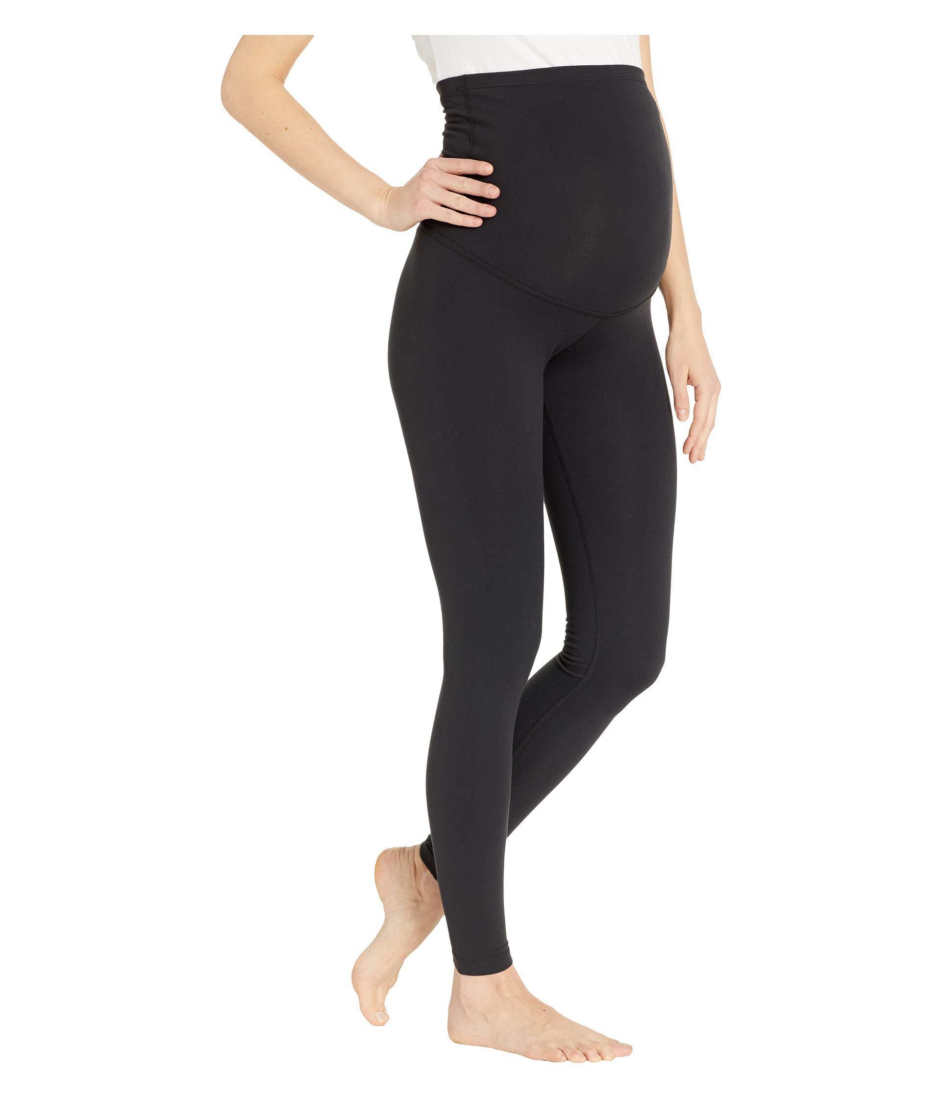 86321981290d1e Beyond Yoga - Maternity Empire Waisted Long Leggings (jet Black) Women's  Workout - Lyst. View fullscreen