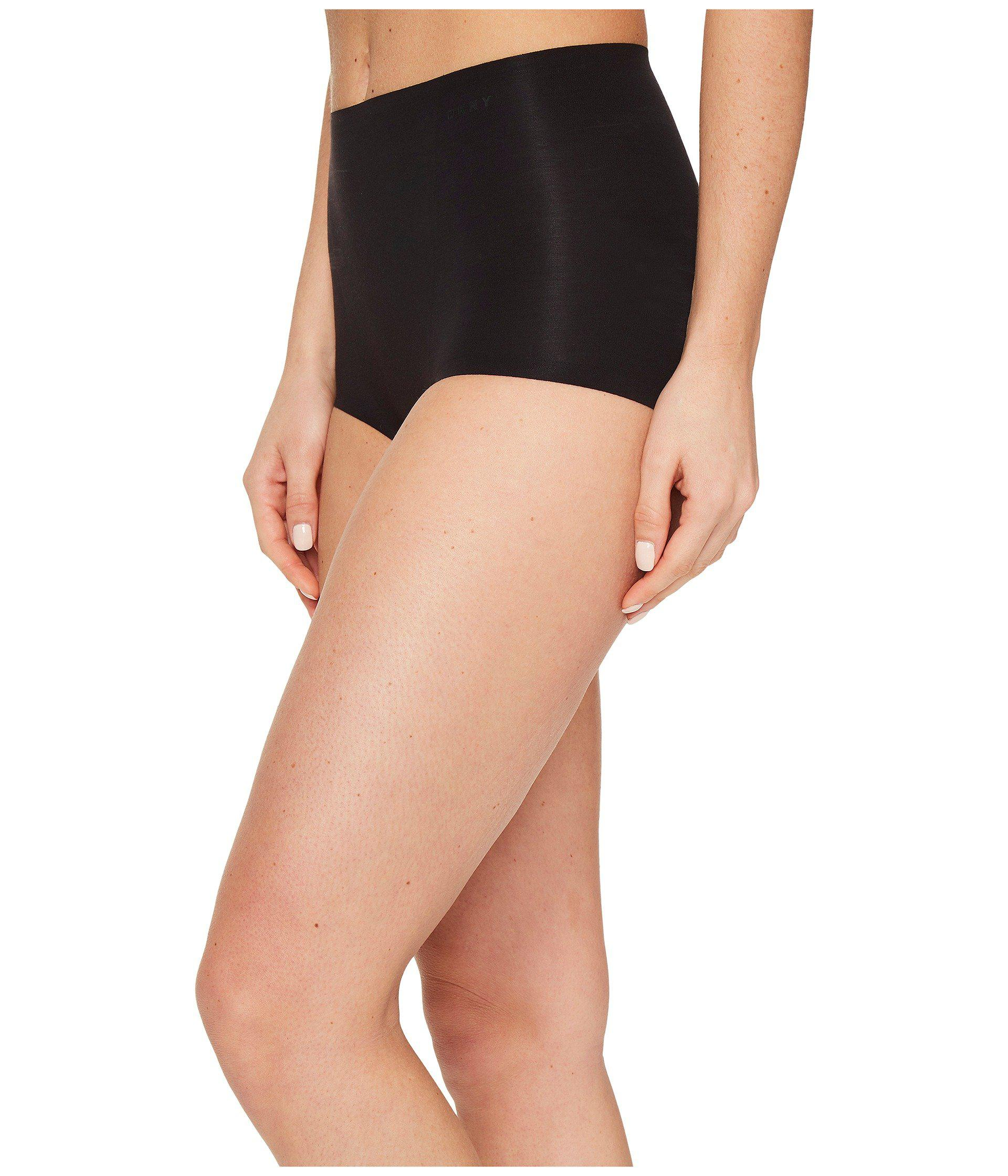 DKNY Womens Classic Cotton Smoothing Brief Briefs