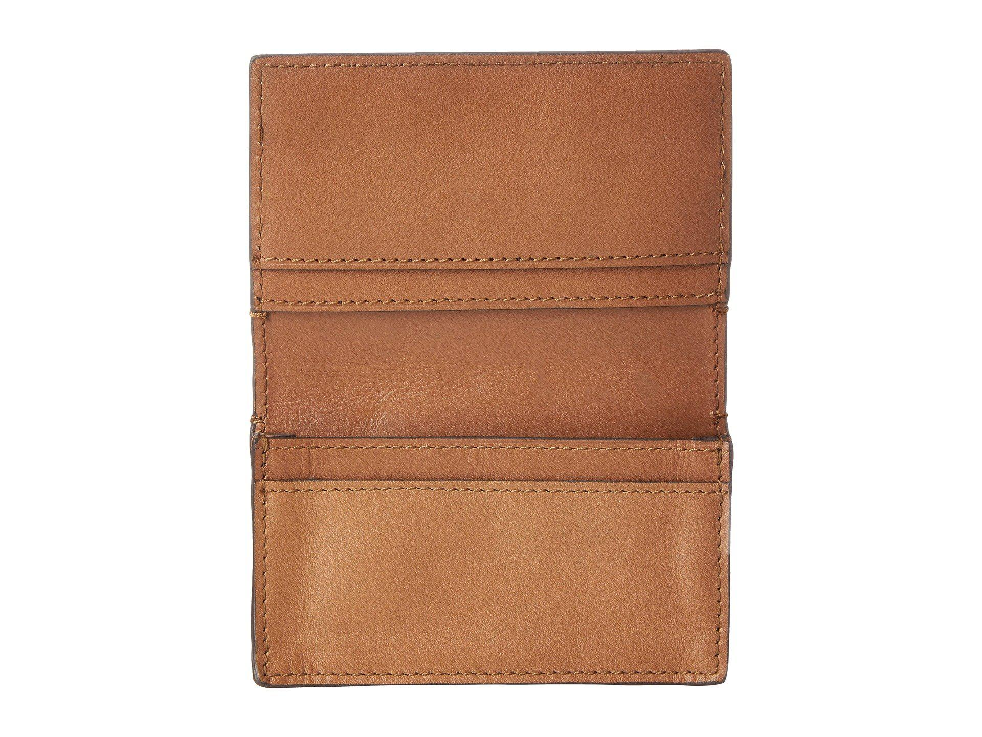 Lyst - Cole Haan Washington Grand Business Card Case in Brown for Men