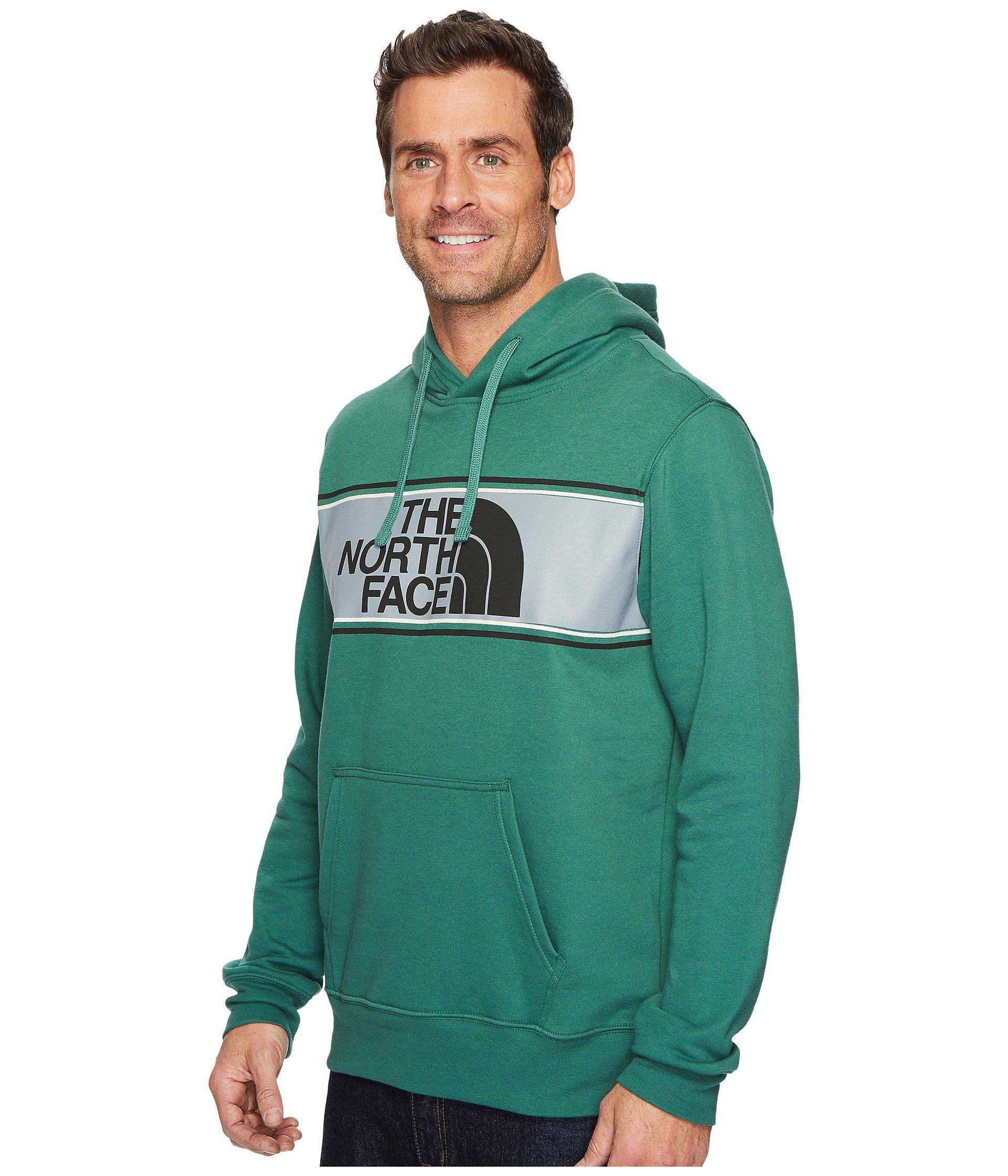 f45024443 Men's Green Edge To Edge Pullover Hoodie
