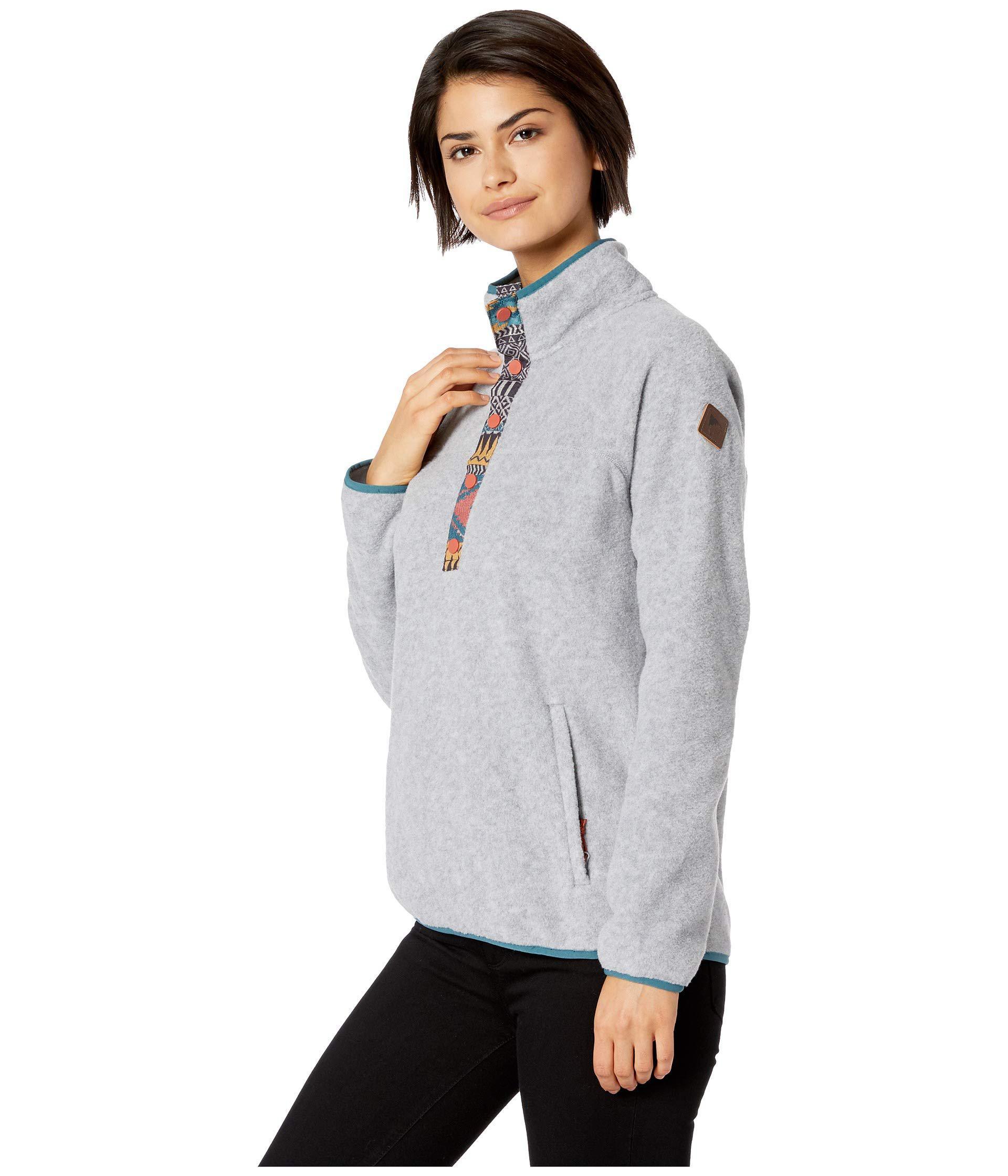 b61baba642 Hearth Fleece Pullover (gray Heather) Women's Fleece