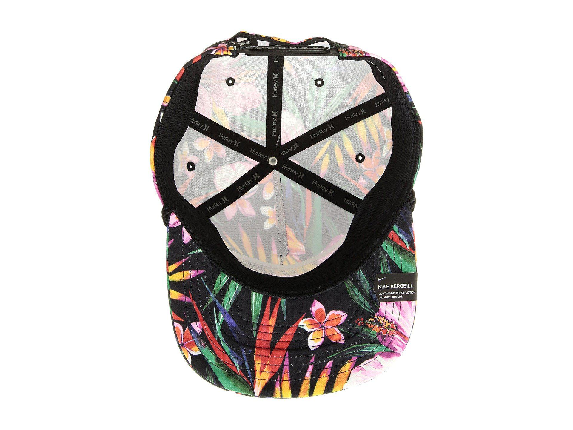 promo code 0fe4e 75706 Hurley Dri-fit Garden Hat (black) Caps in Black for Men - Lyst