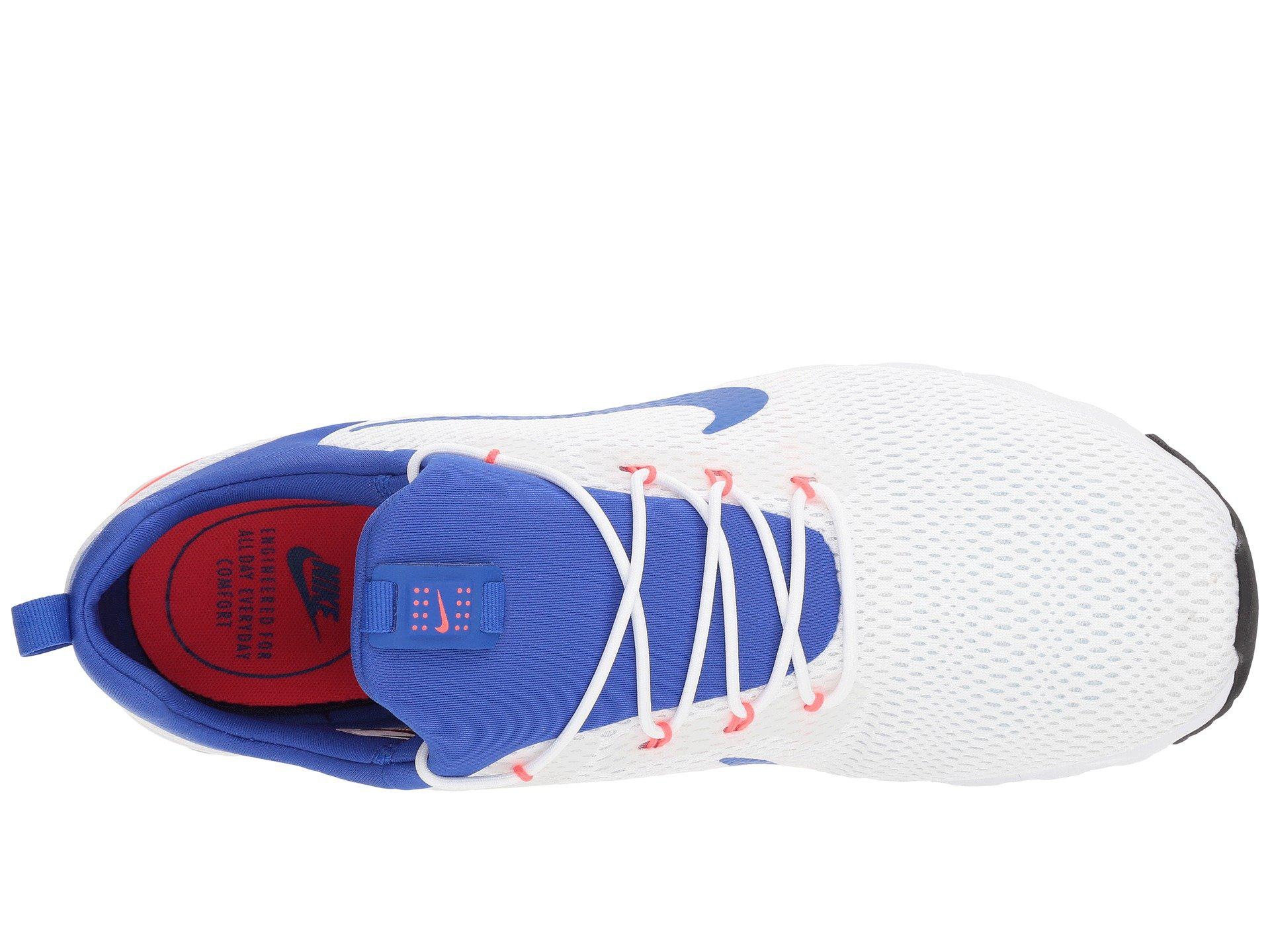 f5d083626389 Lyst - Nike Air Max Motion Racer (white ultramarine solar Red off ...