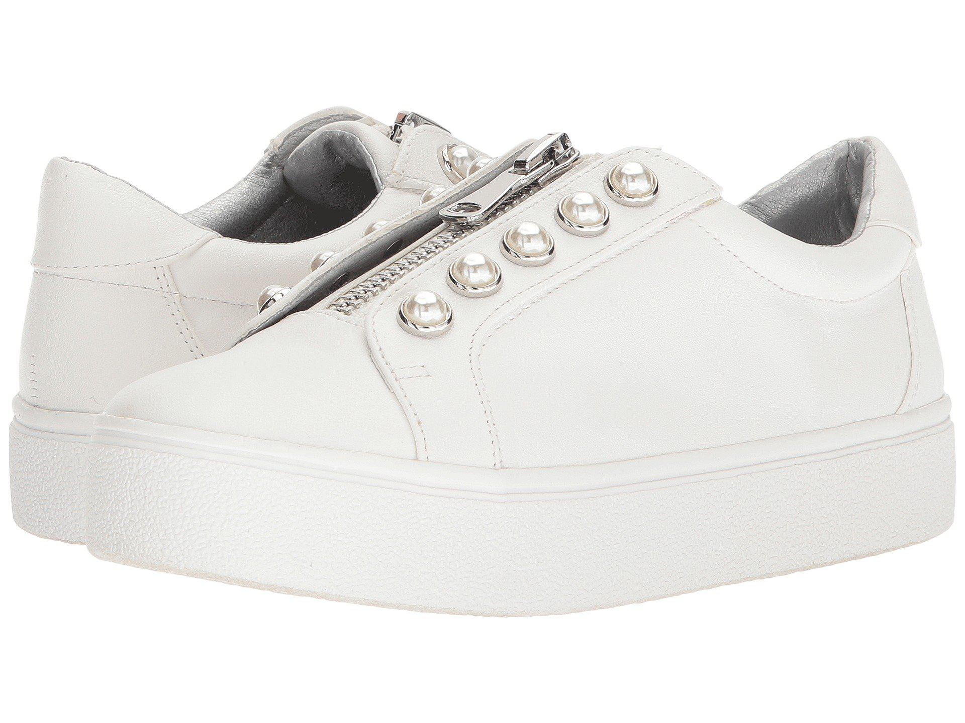 a86be97eeec Lyst - Steve Madden Lynn Sneaker in White