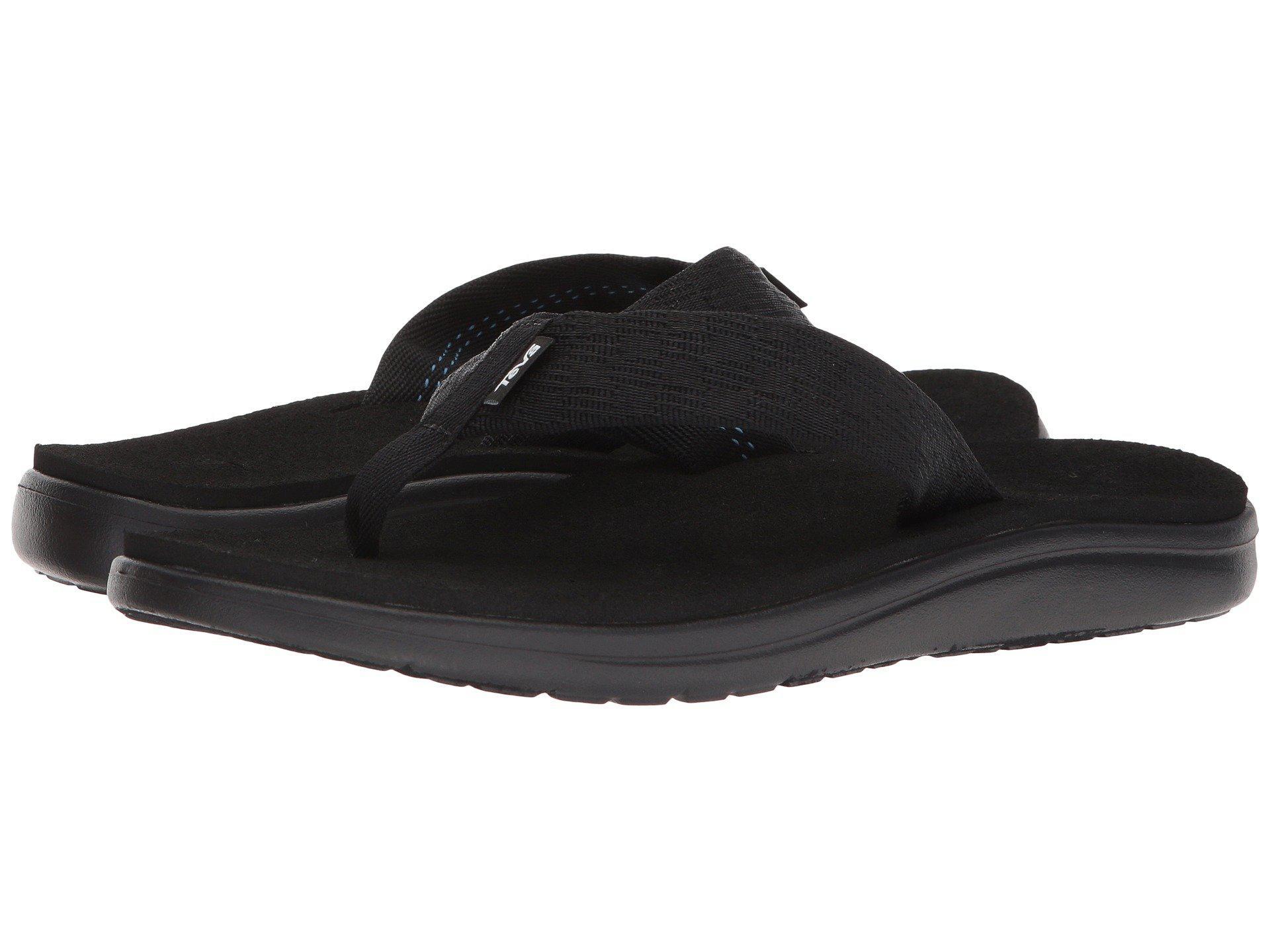 bb9bdfe199a5 Lyst - Teva Voya Flip (zook Black) Men s Sandals in Black for Men