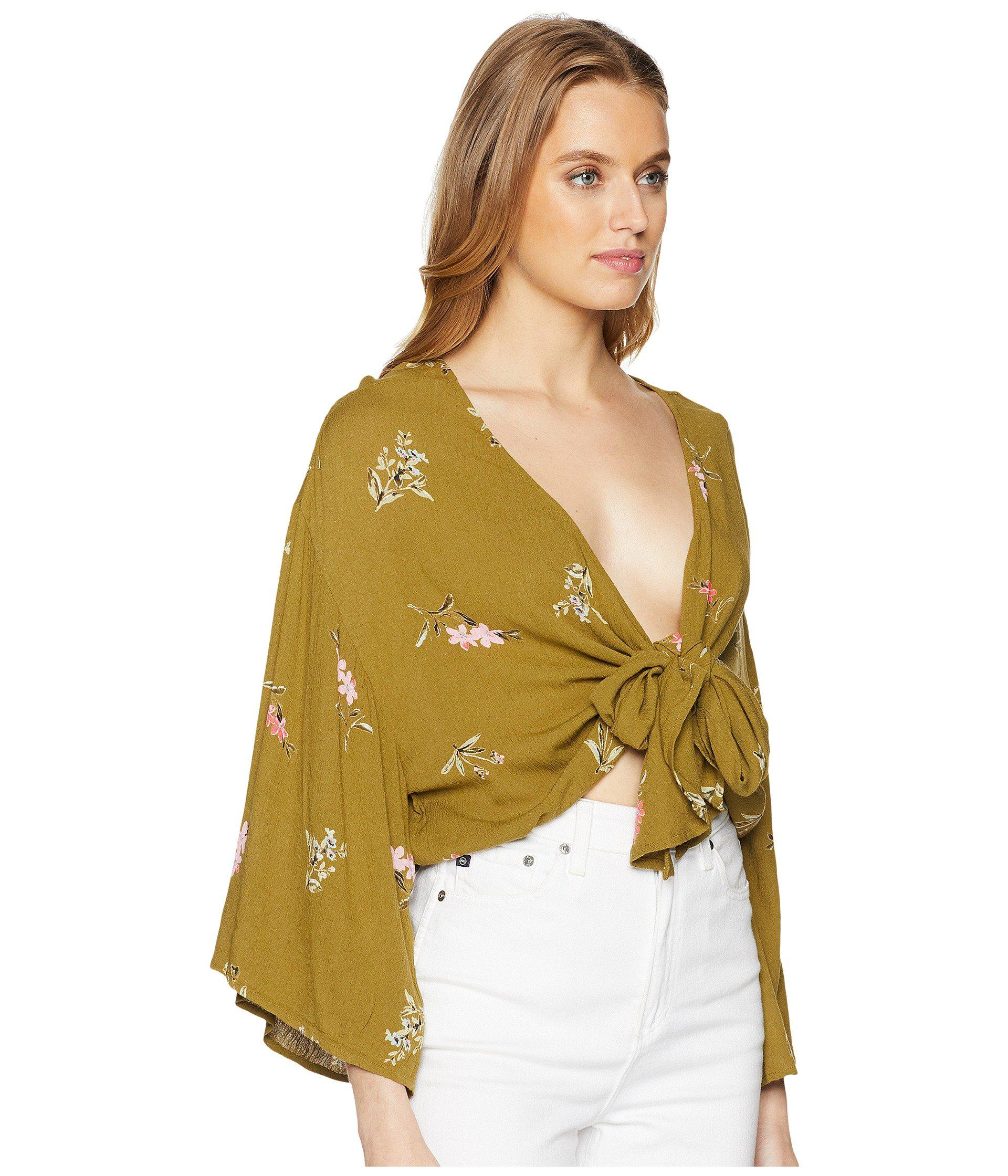Knot Woven Multicolor Top Billabong Yours xoQdCBerW