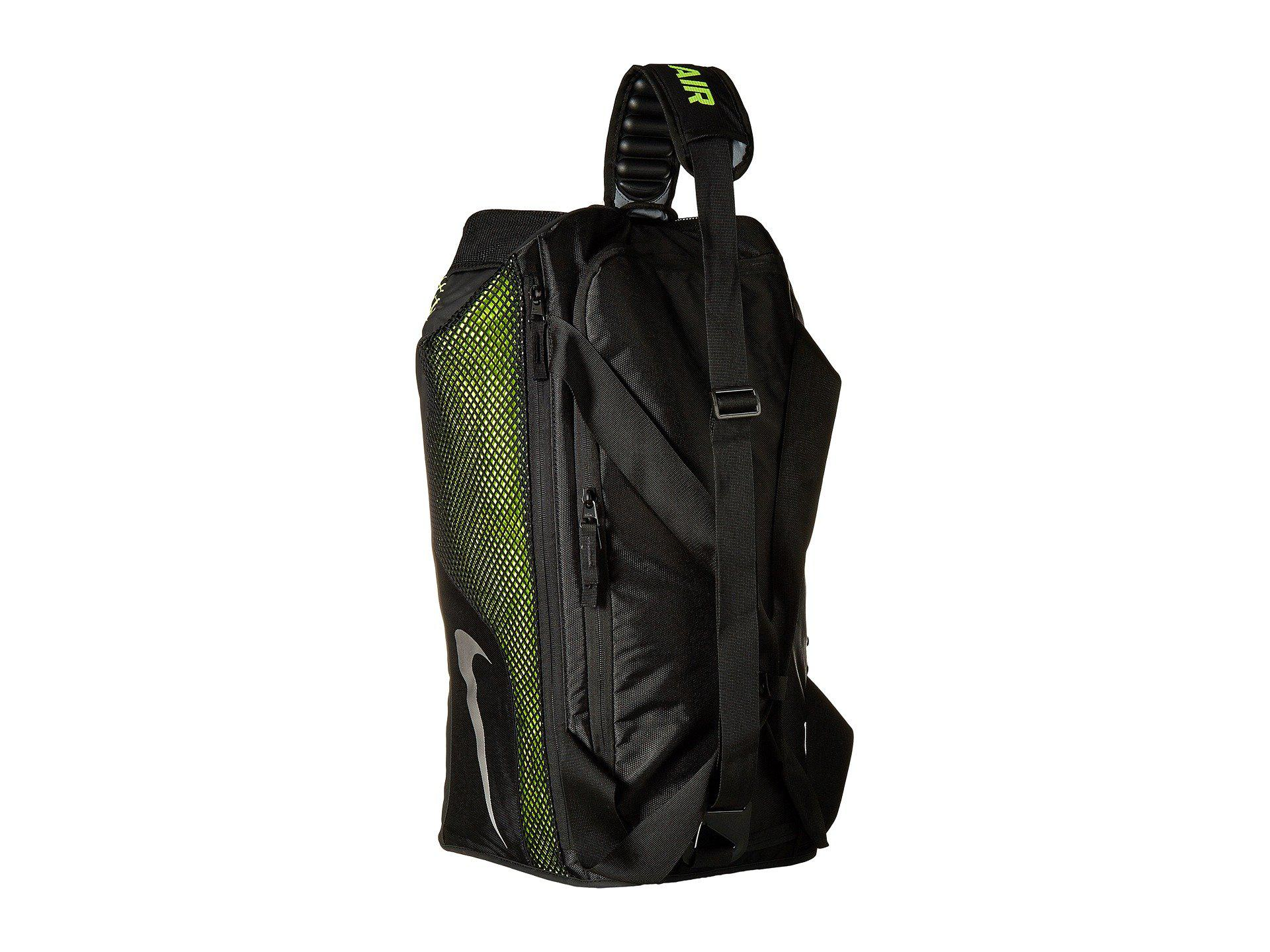 Nike - Multicolor Vapor Max Air Training Medium Duffel Bag  (black volt metallic. View fullscreen 5fdbac8164263