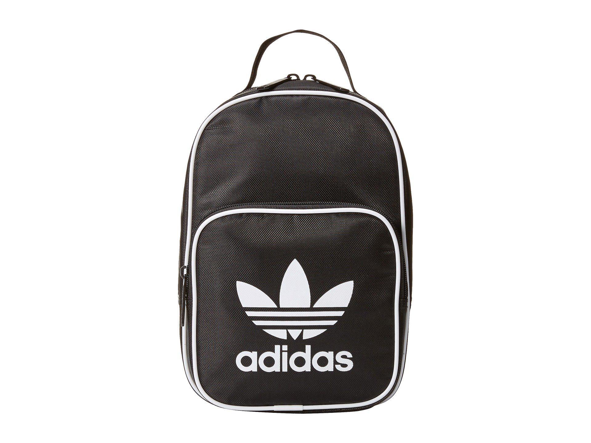 Lyst - adidas Originals Originals Santiago Lunch Bag (black) Bags in ... fda6d6d779161