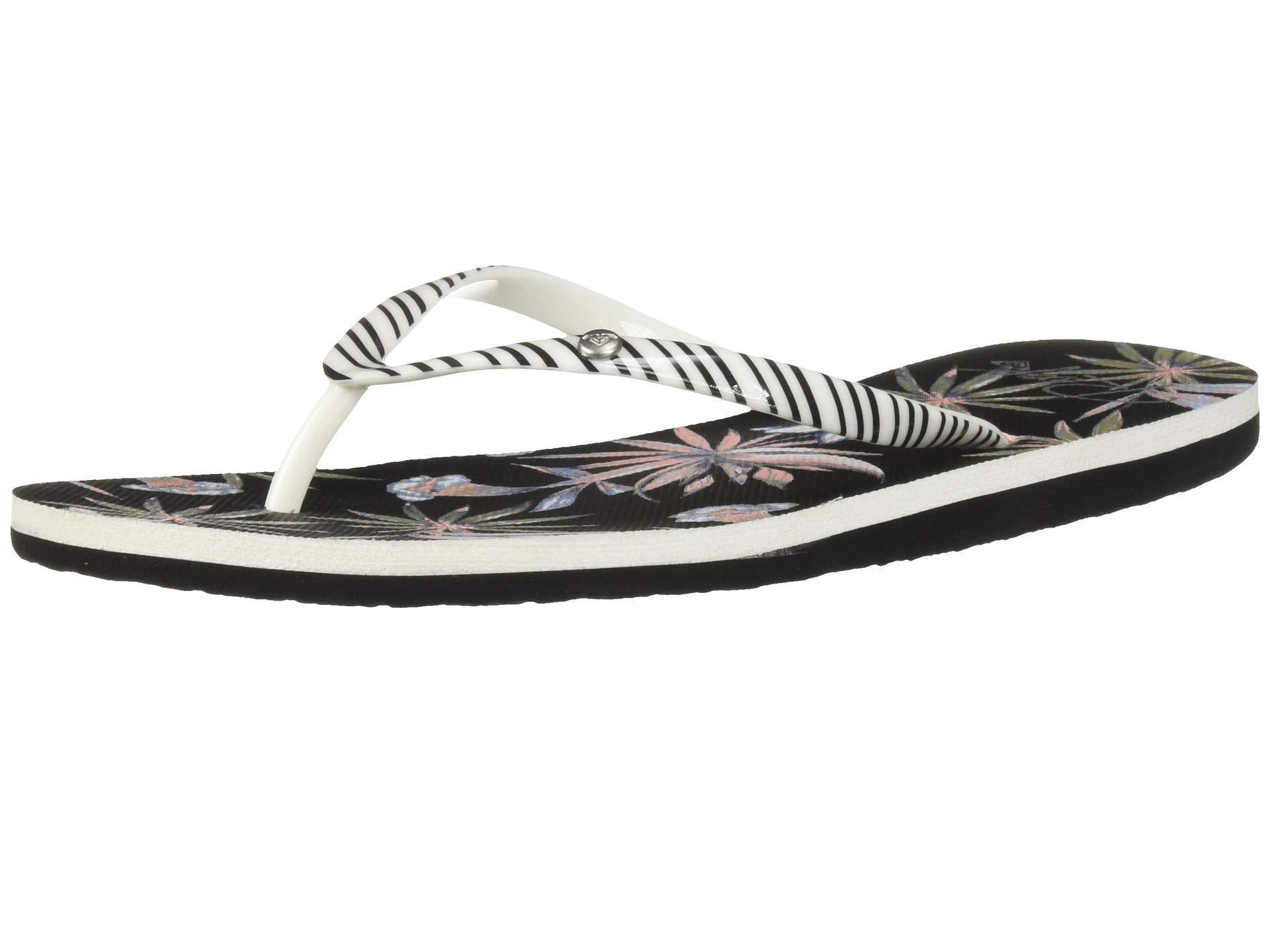 blackwhite Black Ii Fade Portofino Lyst In Sandals Roxy Women's pqCwWAt