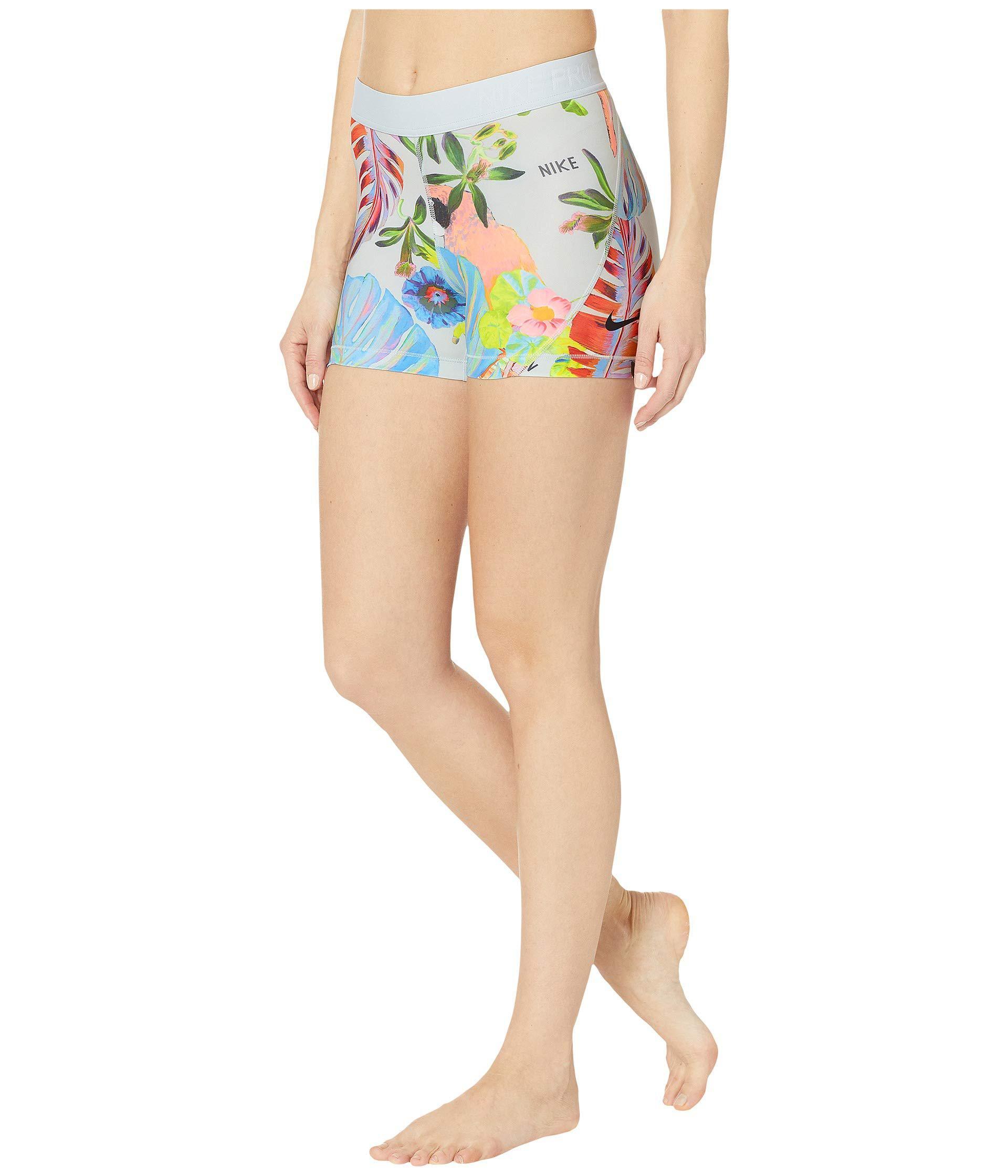 Pro 3 Hyper Femme Shorts Pure Platinumblack Womens Shorts