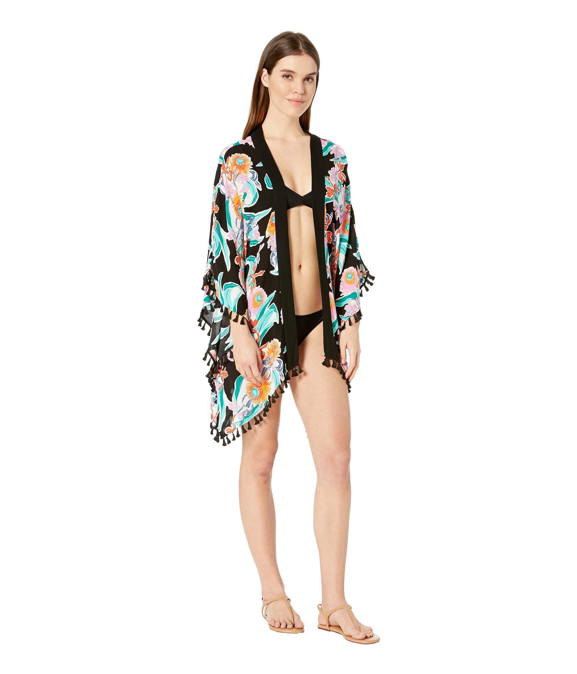 cdee00e759 Trina Turk - Tropic Wave Kimono Cover-up (multicolored) Women s Swimwear -  Lyst. View fullscreen