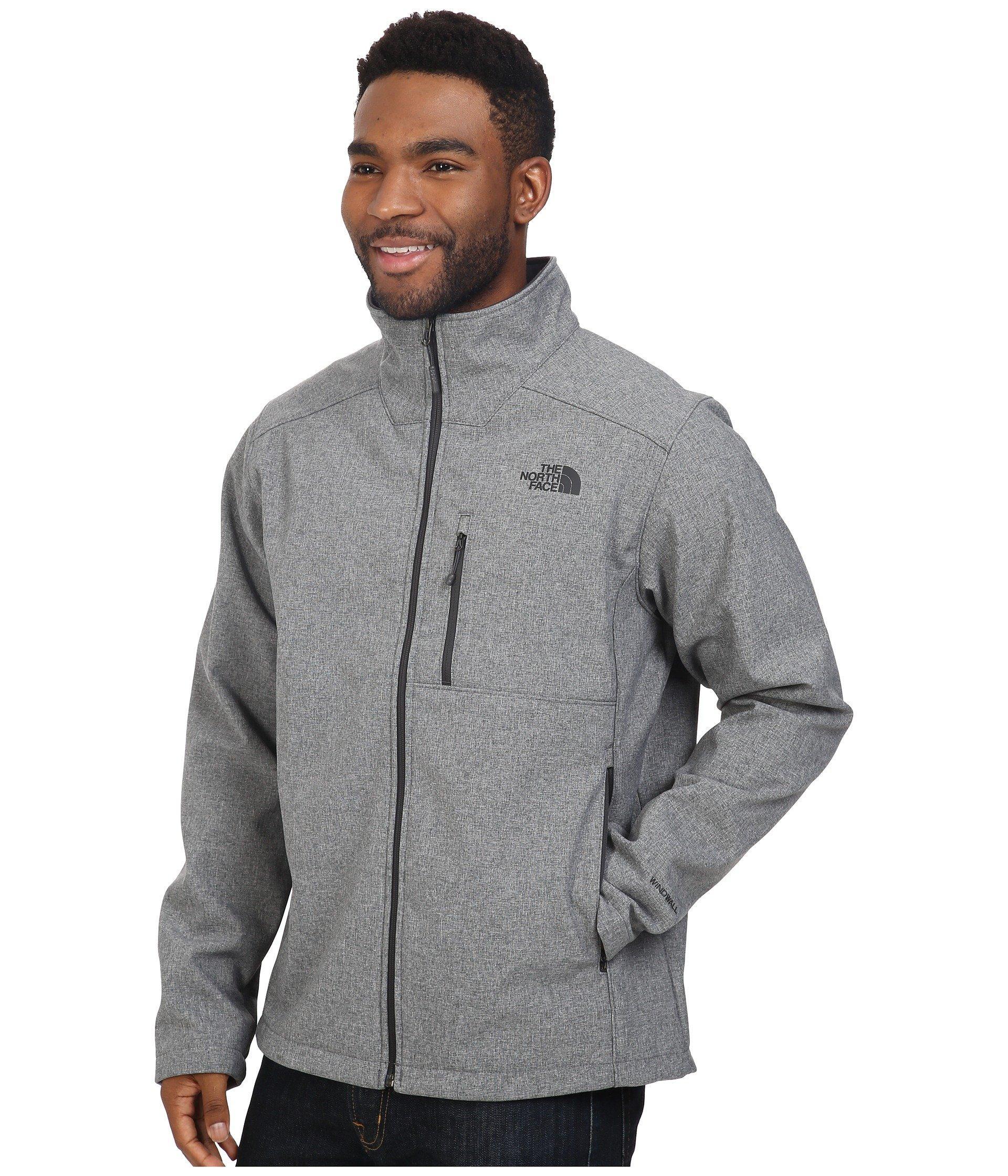 64ab57bcfe0 Lyst - The North Face Apex Bionic 2 Jacket - Tall (tnf Medium Grey Heather  tnf Medium Grey Heather) Men s Coat in Gray for Men - Save 59%