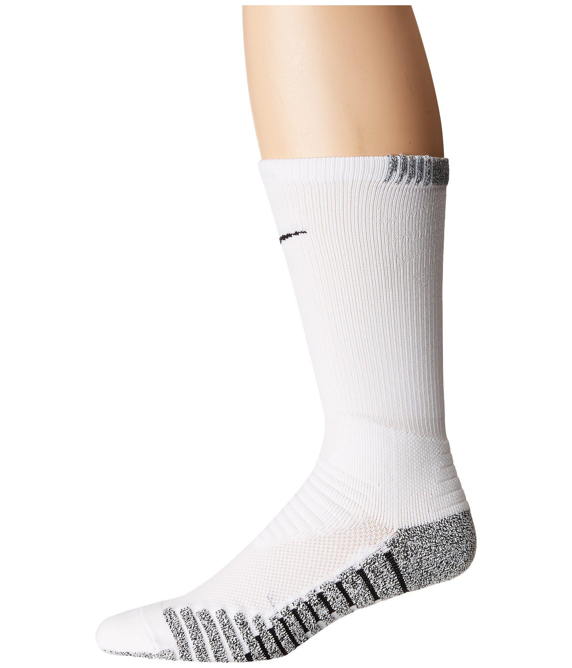 d189f802c0b38 Grip Vapor Crew Football Socks (white/black/black 1) Men's Crew Cut Socks  Shoes
