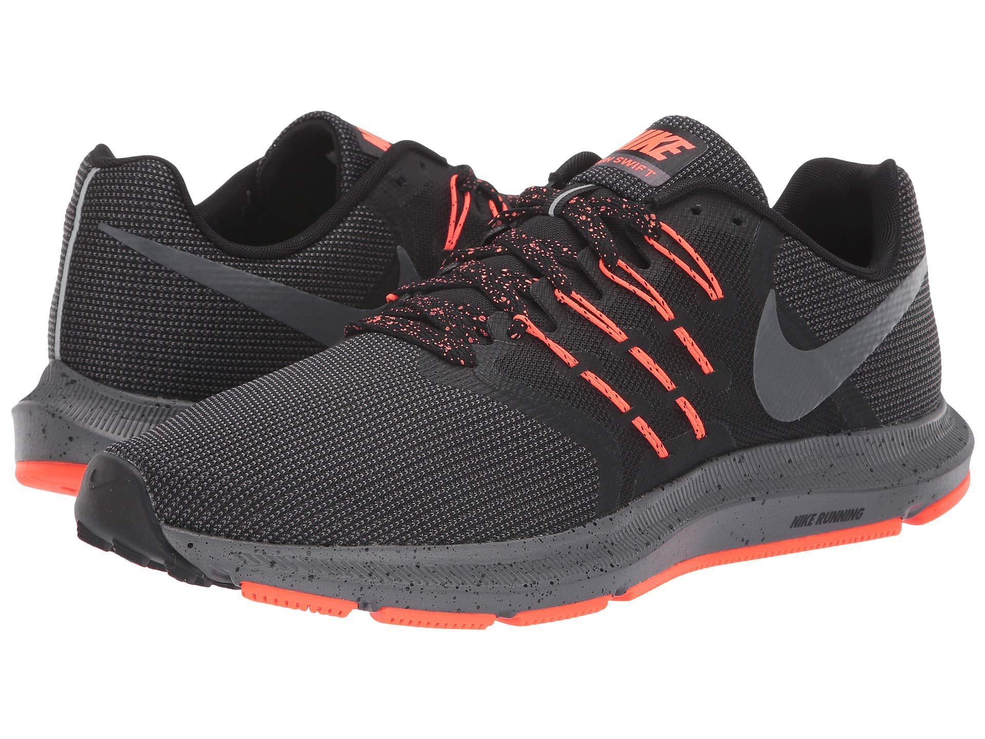 61f9b73687bb9 Lyst Nike Run Swift Se Black Dark Grey Total Crimson Men S