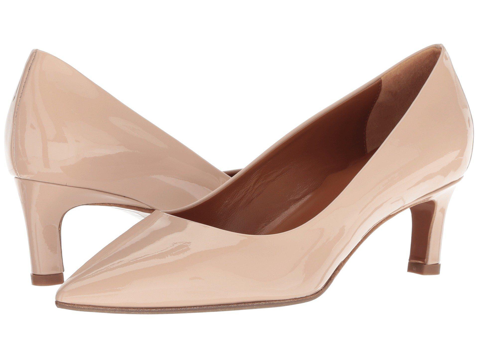 1214101039d1 Lyst - Aquatalia Marianna (black Patent) Women s 1-2 Inch Heel Shoes