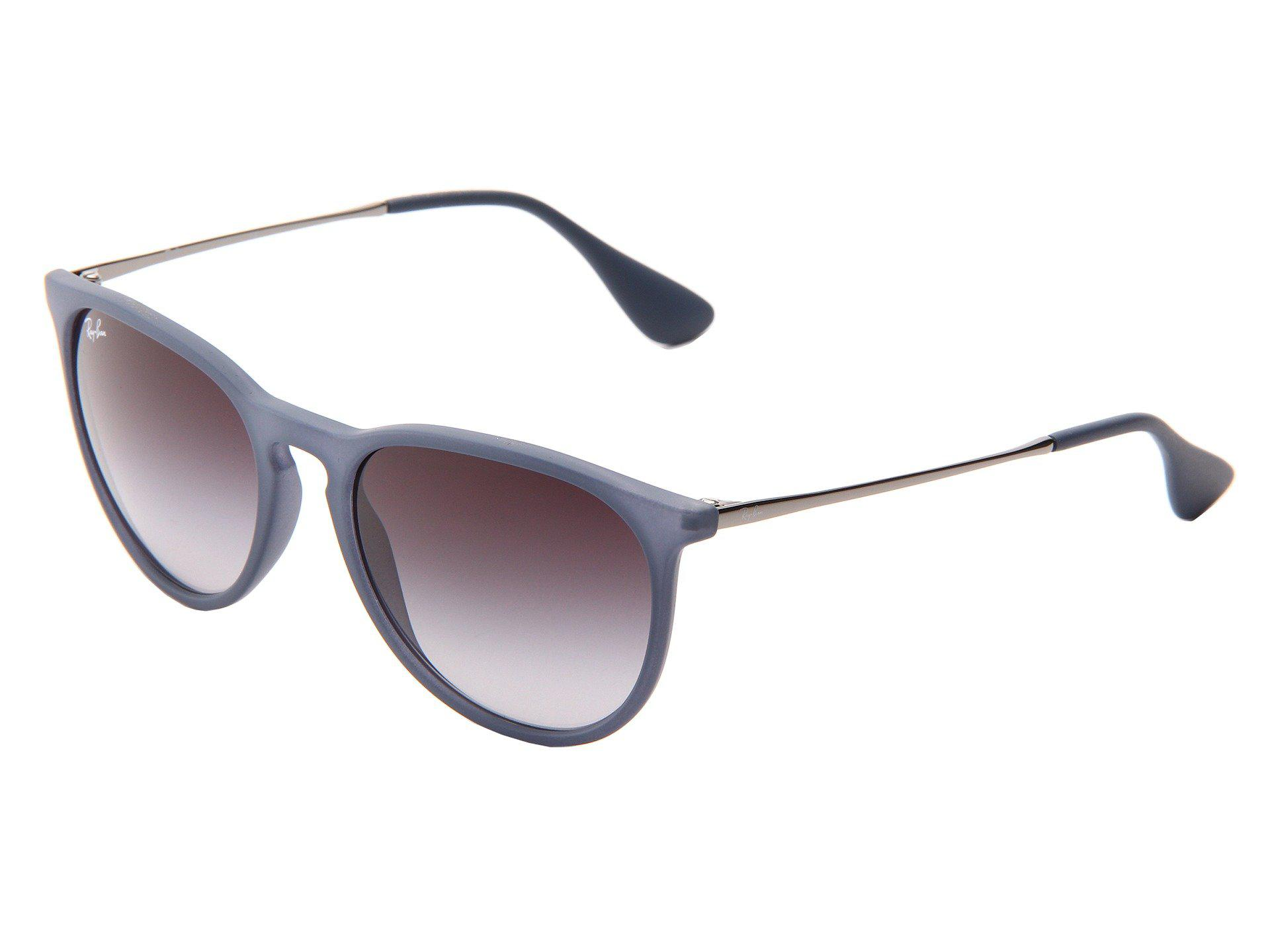 06606142db193 ... sale ray ban. womens blue erika rubberized havana plastic frame fashion  sunglasses cf34b b1f57