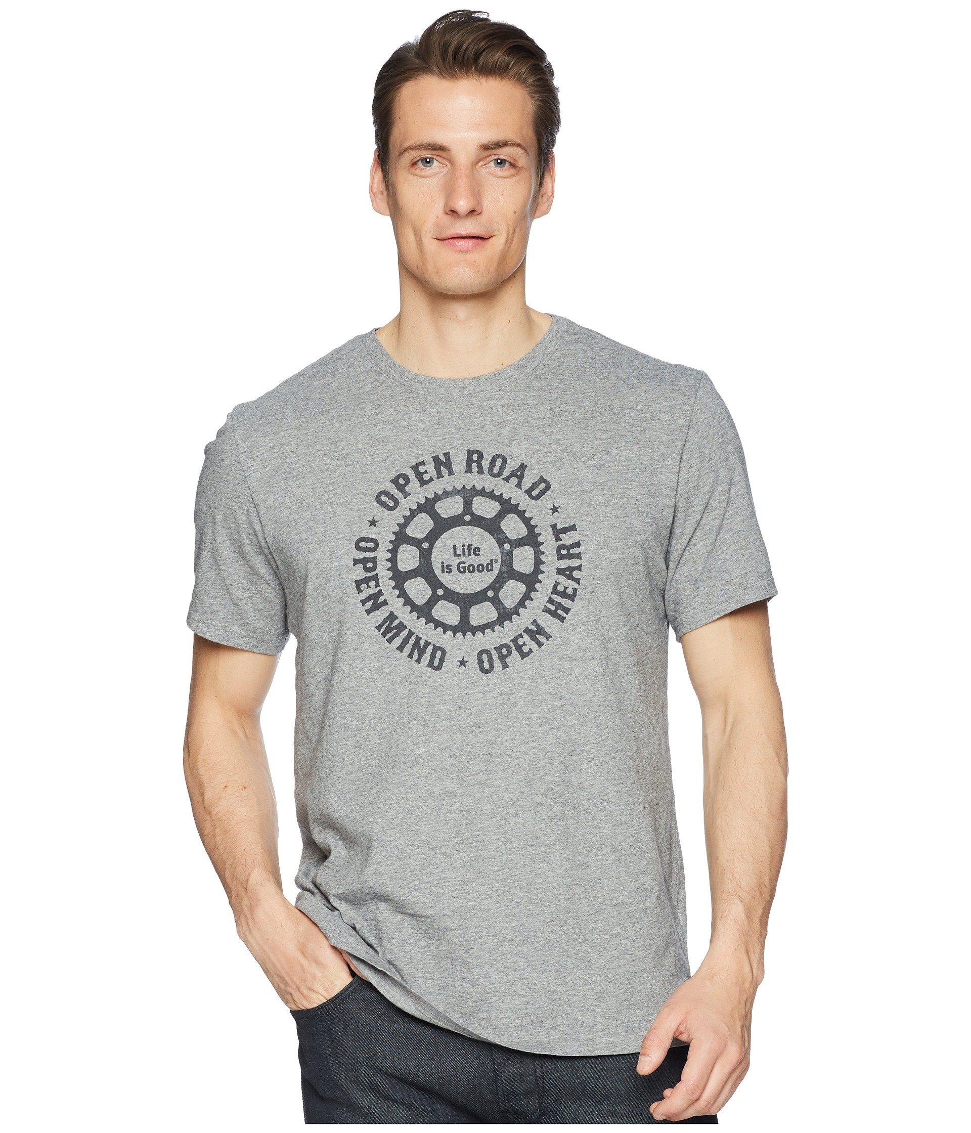 Life is Good Open Road Smooth Tee