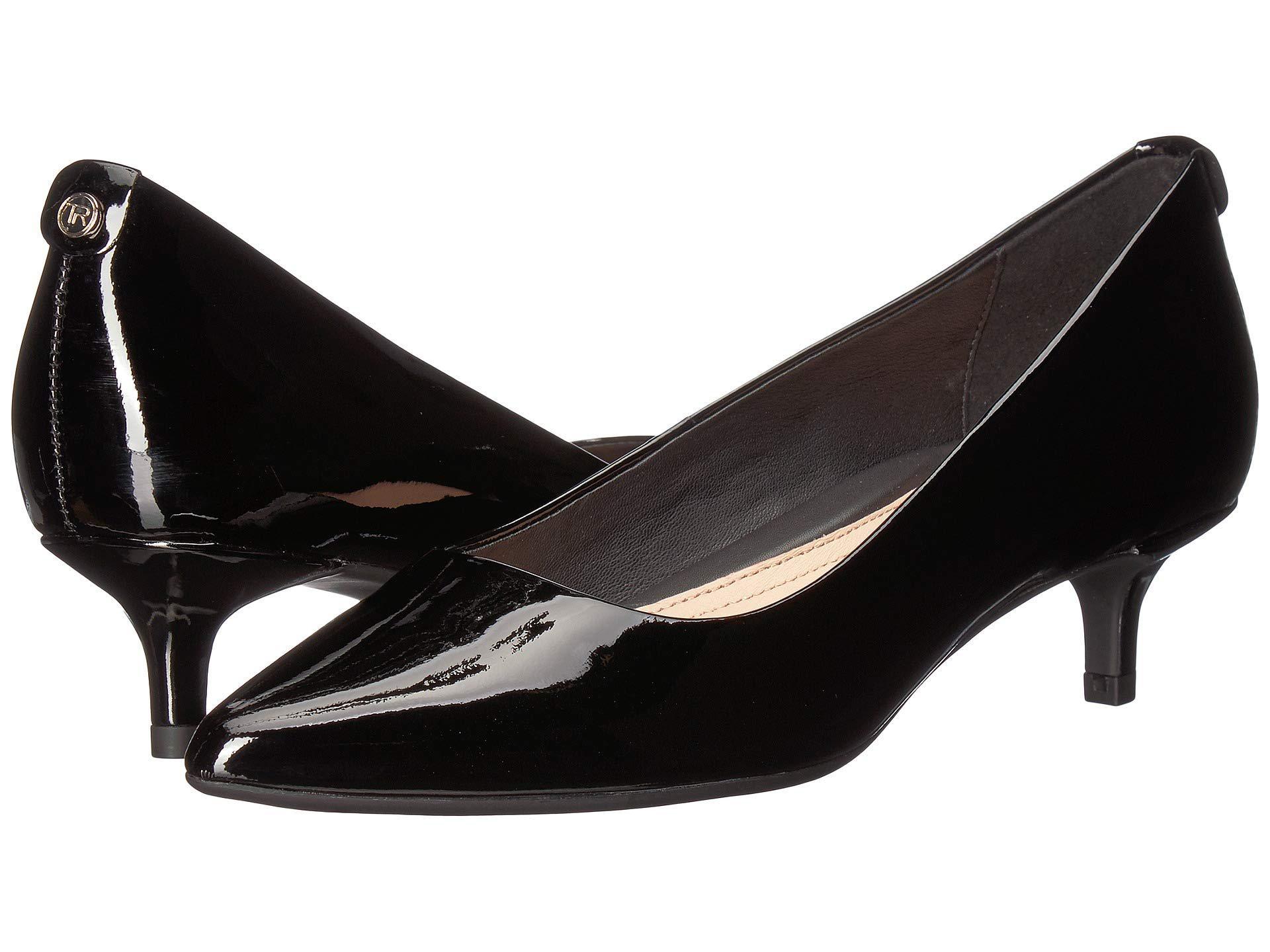 bfcf08aebf Lyst - Taryn Rose Naomi Weatherproof (black Patent) Women's Shoes in ...