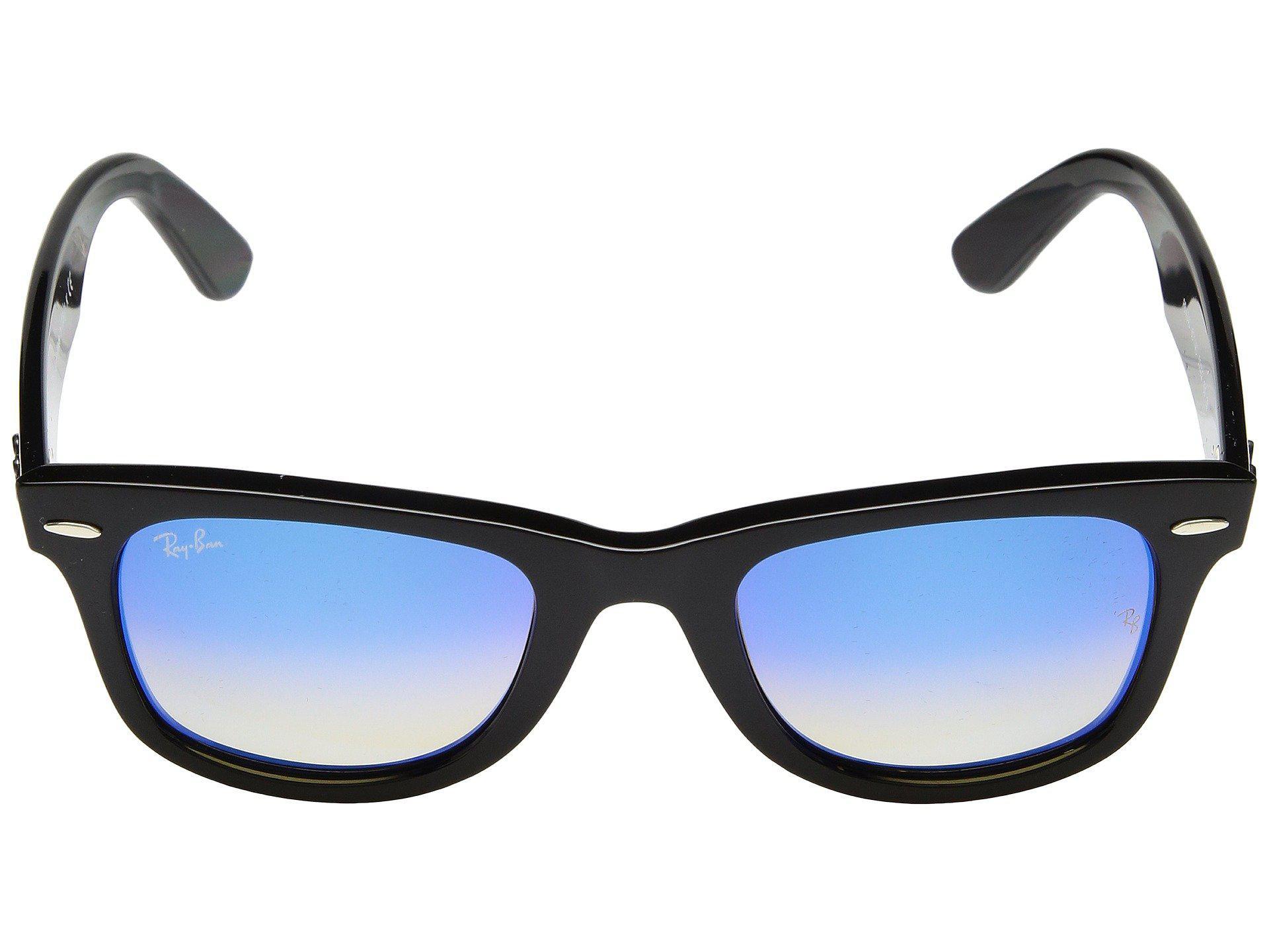 Lyst - Ray-Ban Wayfarer Ease Rb4340 50mm (black polarized Green ... fa3e7192ce