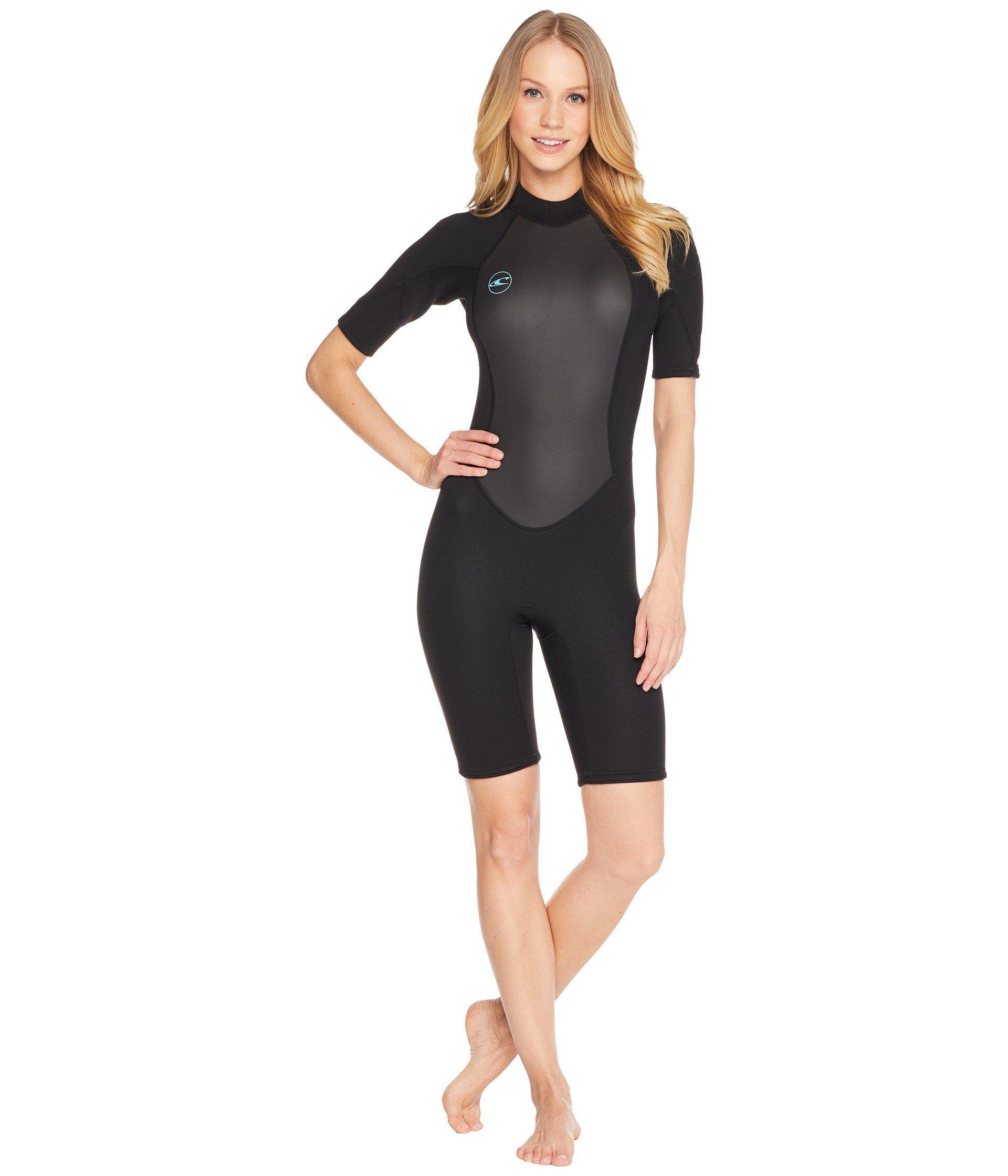 Lyst - O neill Sportswear Reactor-2 2mm Back Zip Short Sleeve (black ... 2eaa5f2a5