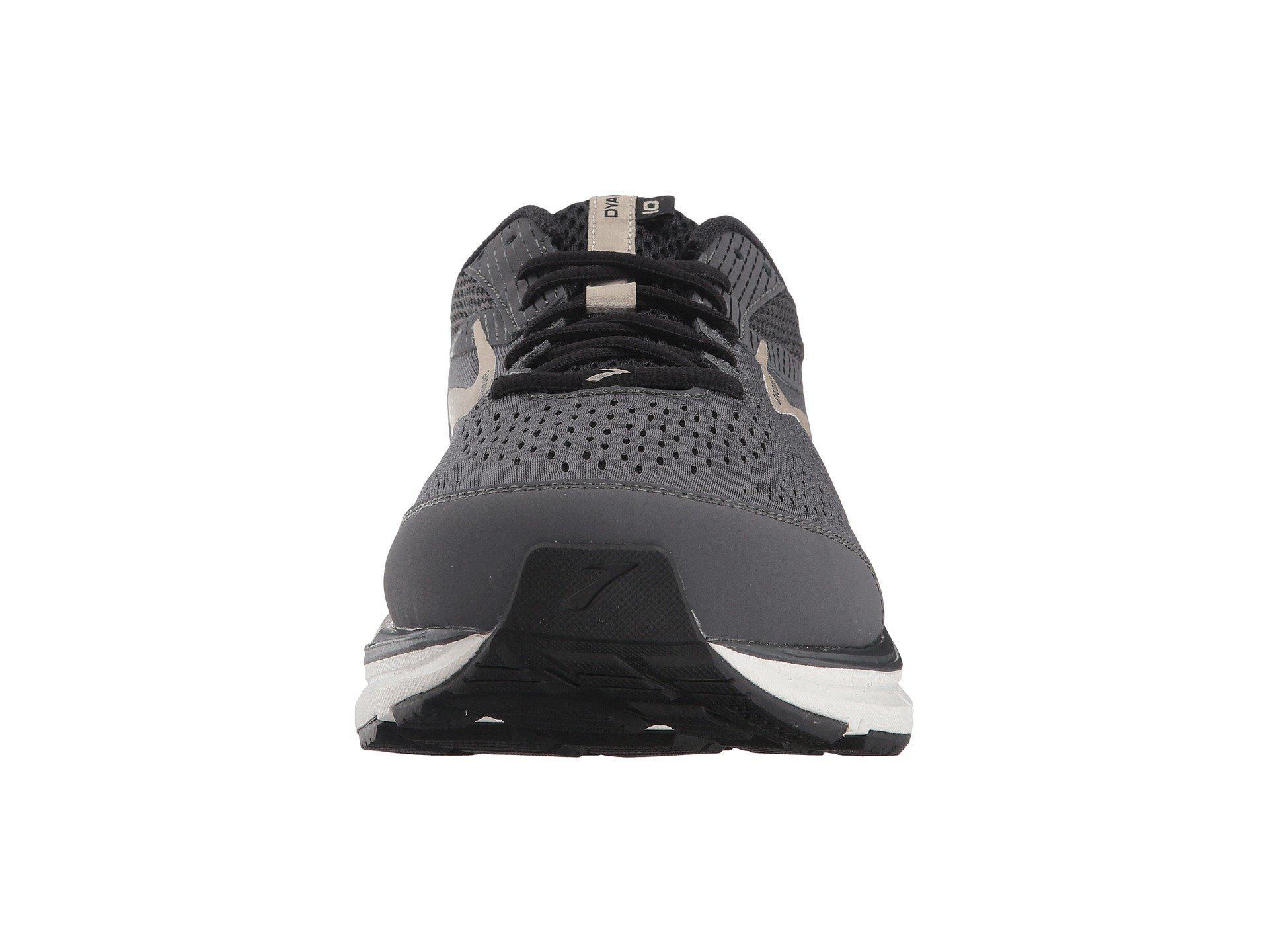 579885c24fe Brooks - Dyad 10 (grey black tan) Men s Running Shoes for Men. View  fullscreen