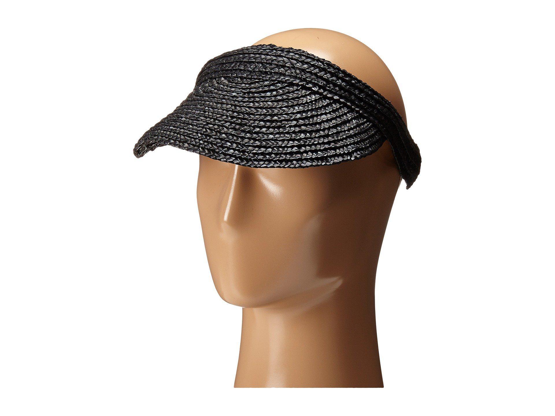 f971e48a749 Lyst - San Diego Hat Company Wsv0004 4 Inch Brim Straw Slip-on Visor ...