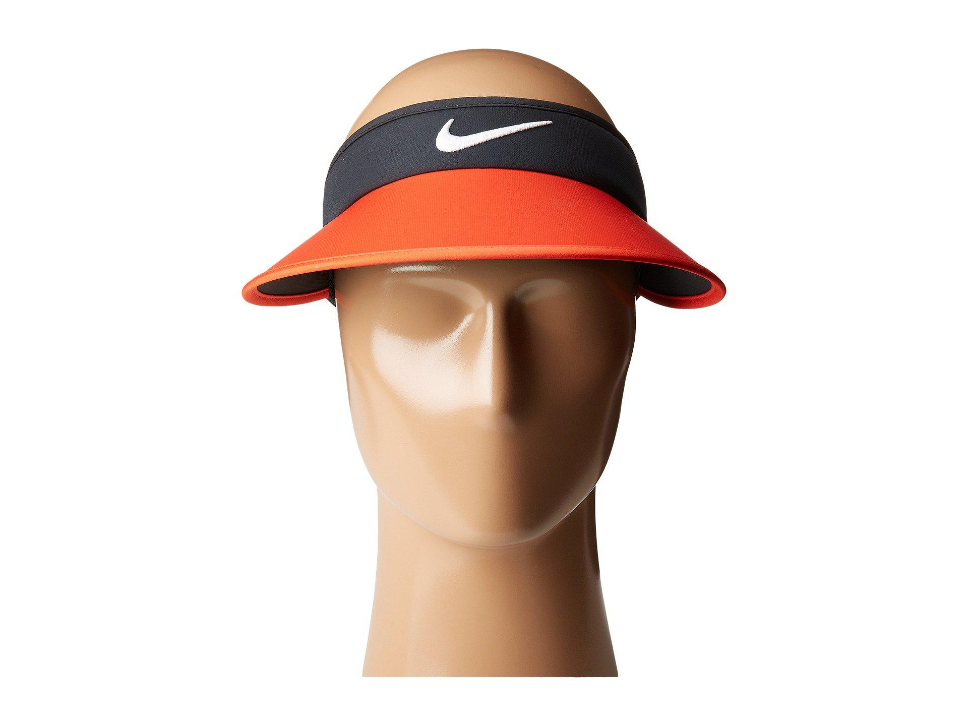 818a615d Women's Orange Big Bill Visor 3.0