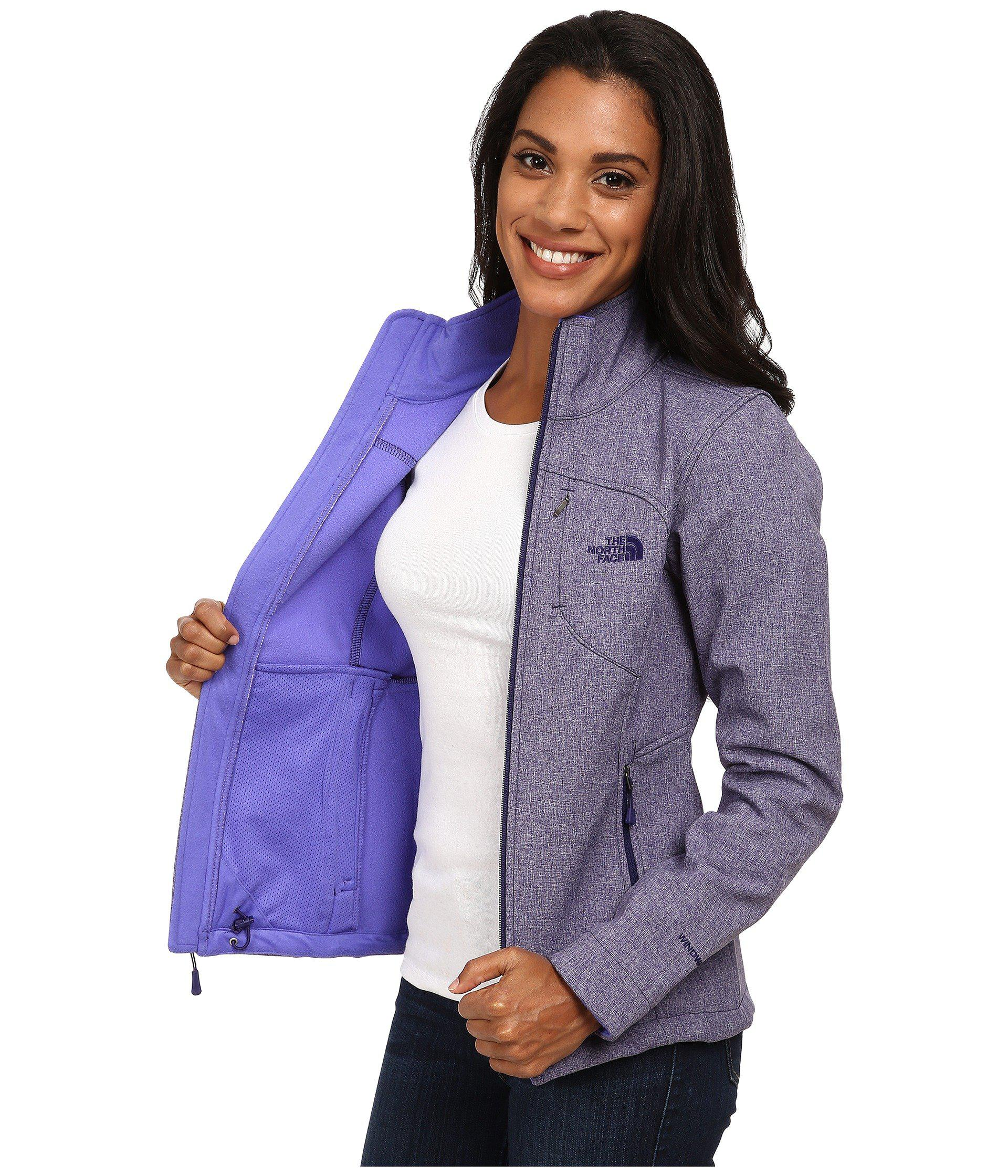 0157a9399a15 Lyst - The North Face Apex Bionic Jacket (mid Grey luminous Pink ...