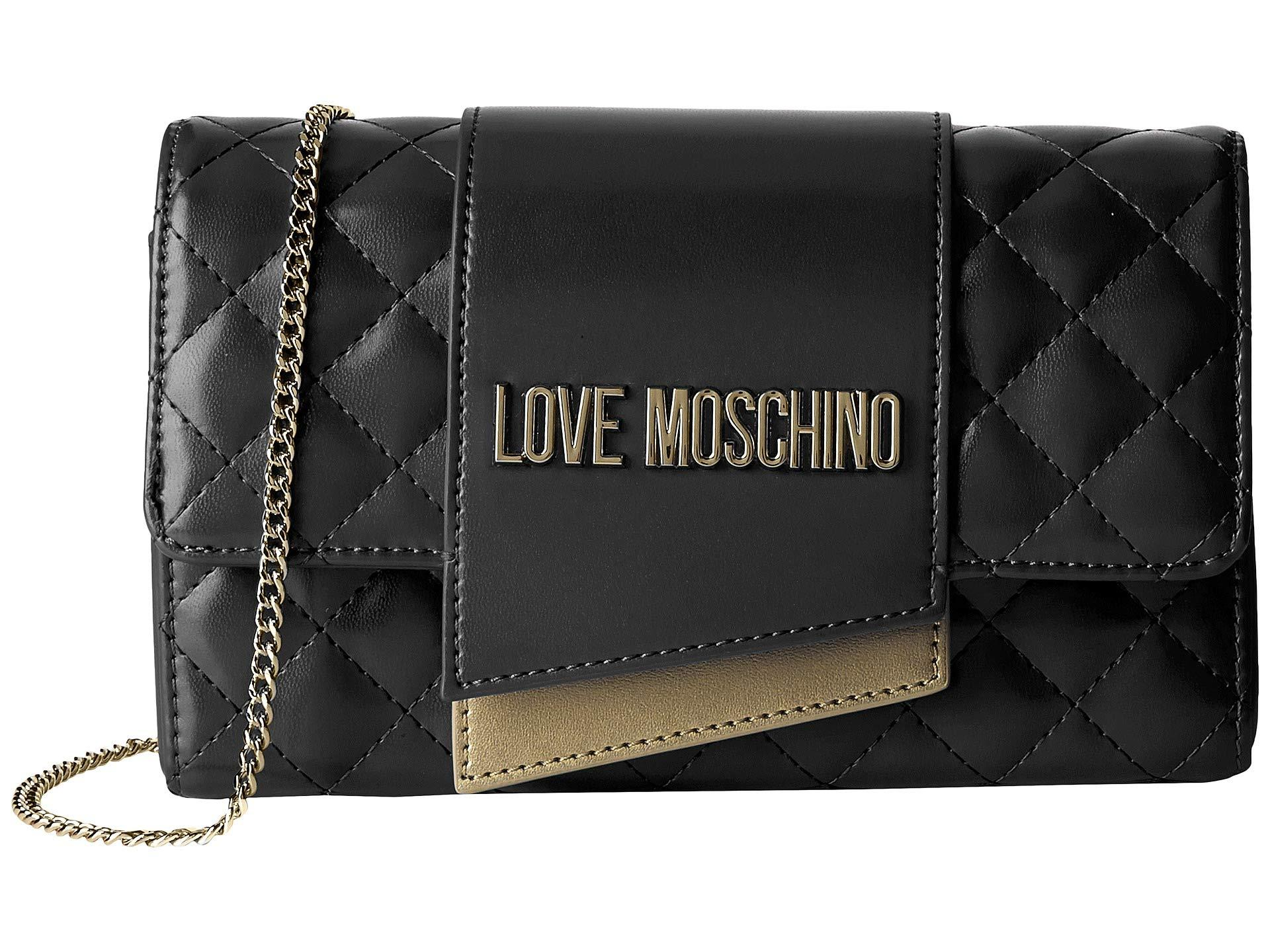 Love Moschino Quilted Evening Bag In