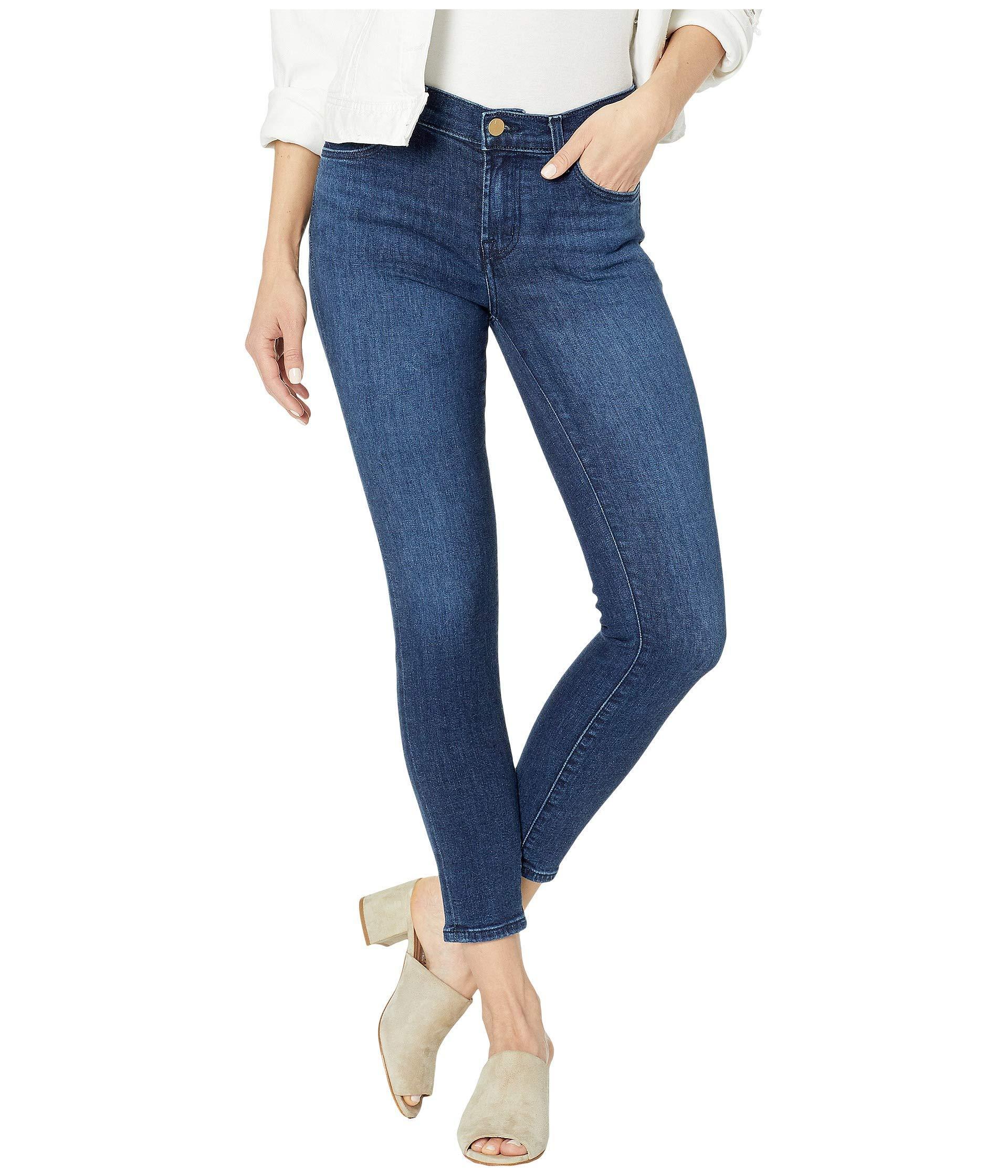 J Brand Jeans Womens 835 Mid Rise Crop Skinny