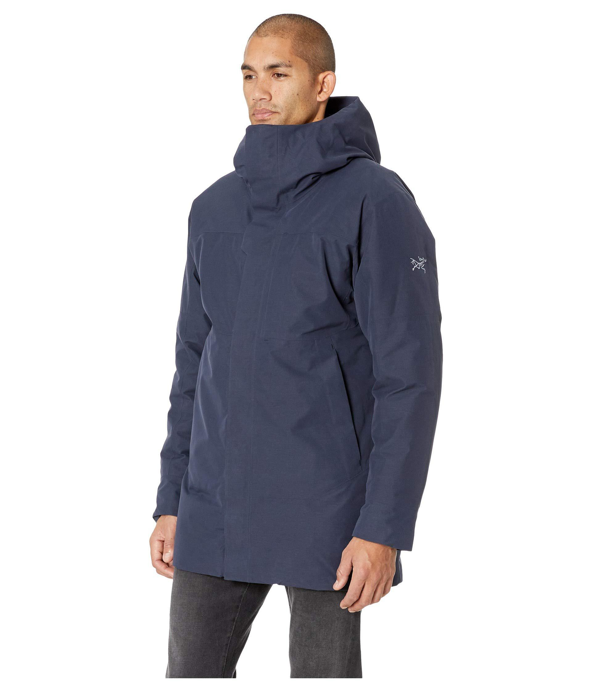 69d1bd5d70b Arc'teryx Blue Therme Parka (black) Men's Coat for men