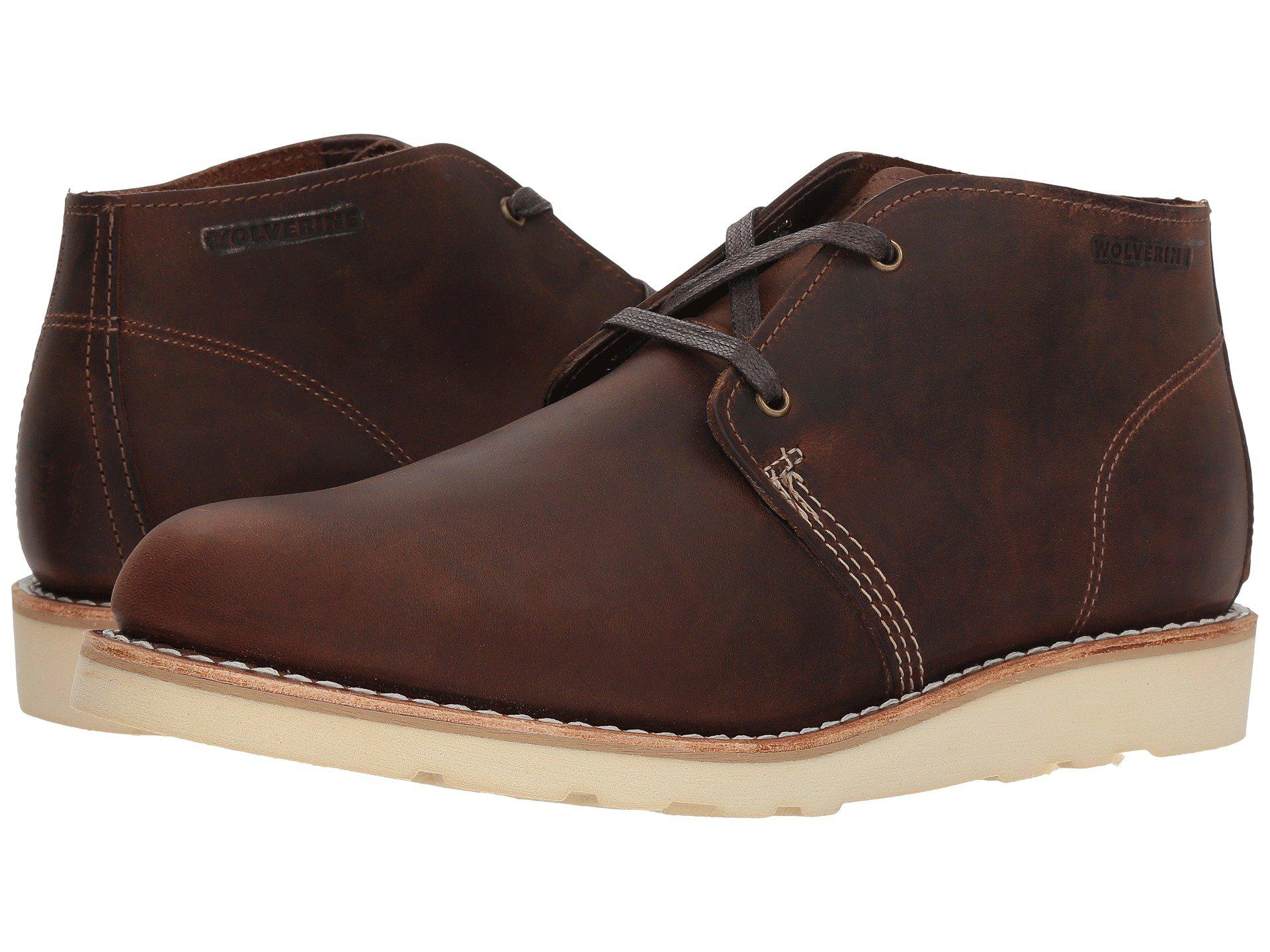 362fb842997 Wolverine Brown Liam Chukka (grey Leather) Men's Lace Up Casual Shoes for  men