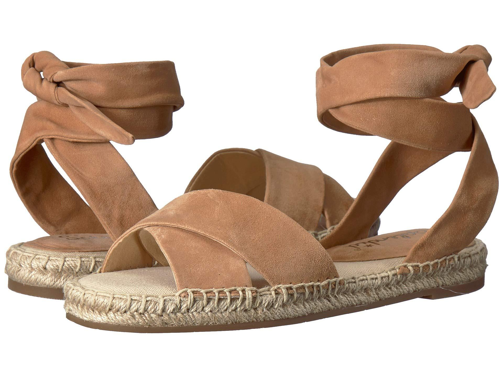 e1e1a6dd8d3 Lyst - Splendid Tereza (blush Kid Suede) Women s Sandals in Brown