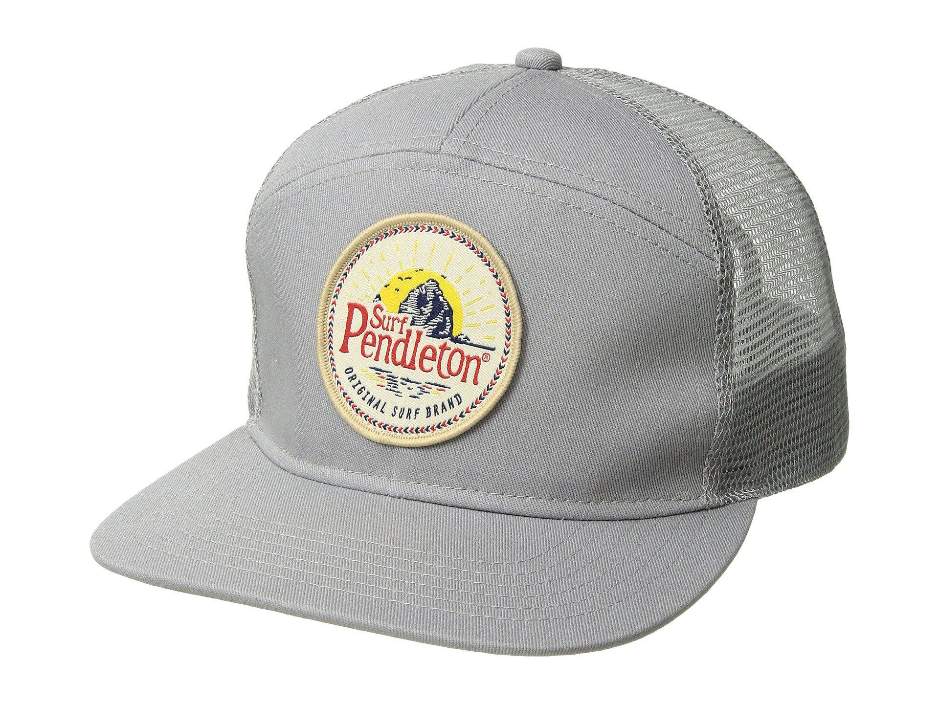 a66ad357c17 Lyst pendleton surf trucker hat with patch in gray for men jpg 1920x1440  Caps sewn patch