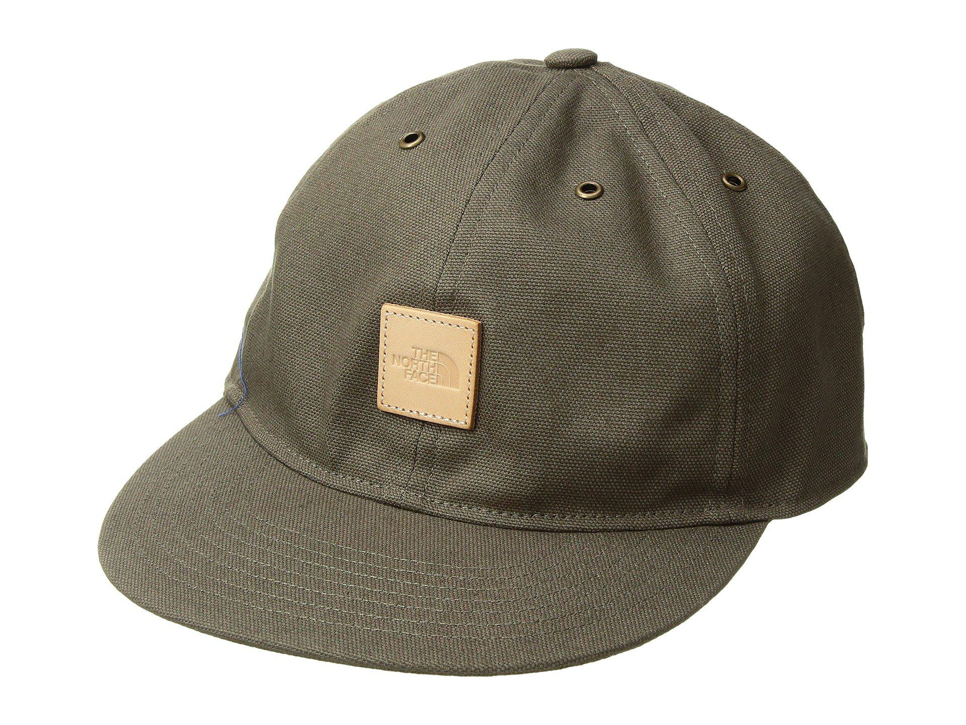 Lyst - The North Face Naturalist Canvas Cap (weathered Black) Caps ... ff94b50a61d
